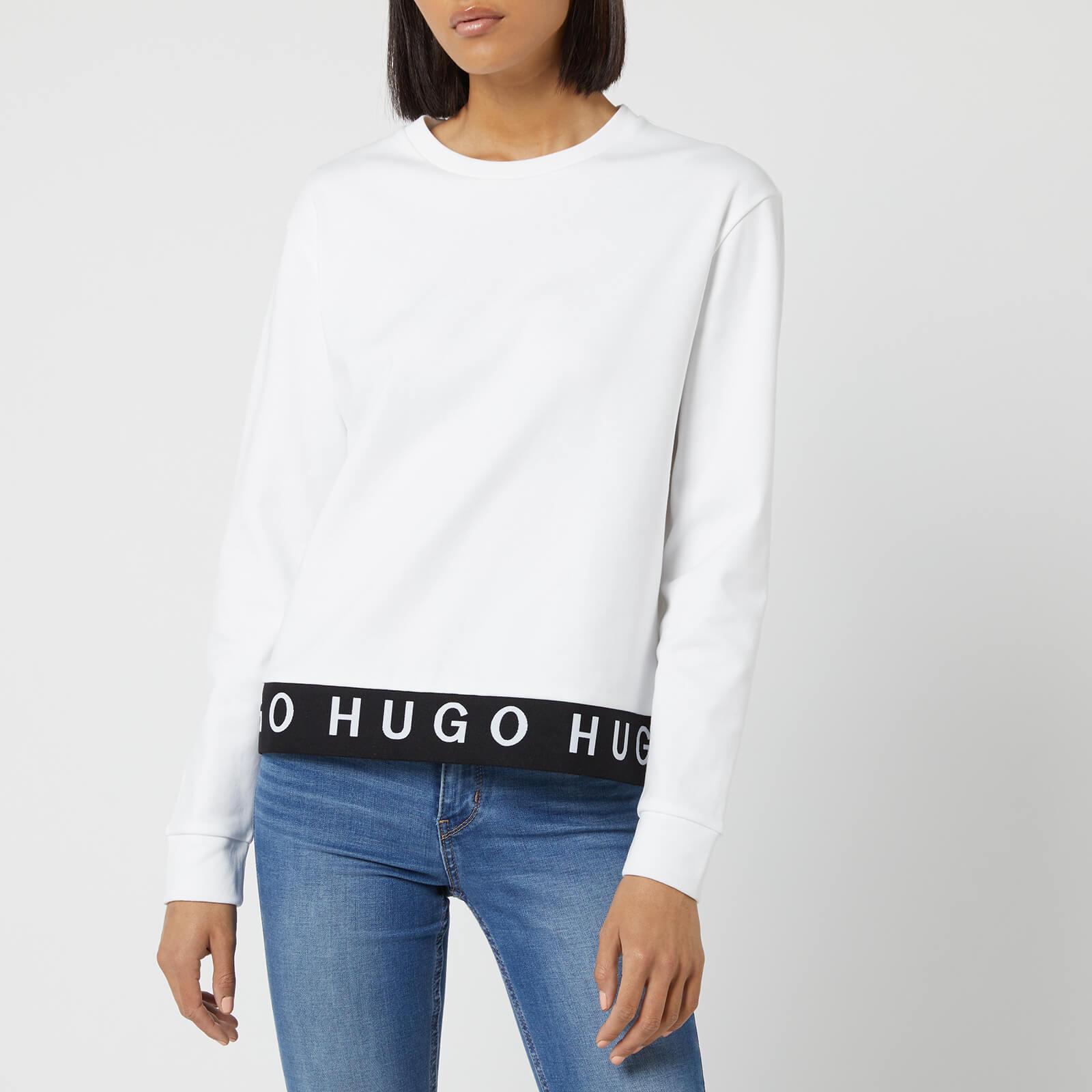 Hugo Boss Women's Nicci Sweatshirt - White - L