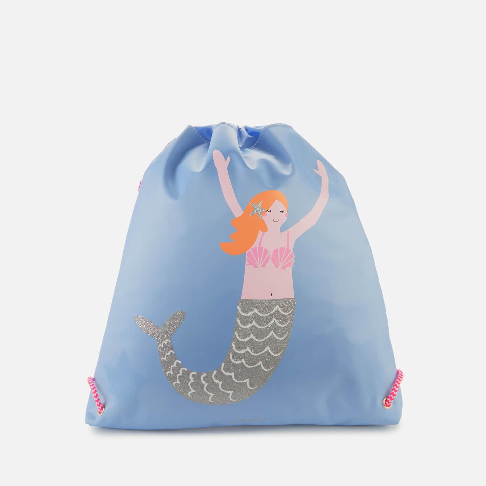 Joules Girls' Active Bag - Blue Mermaids