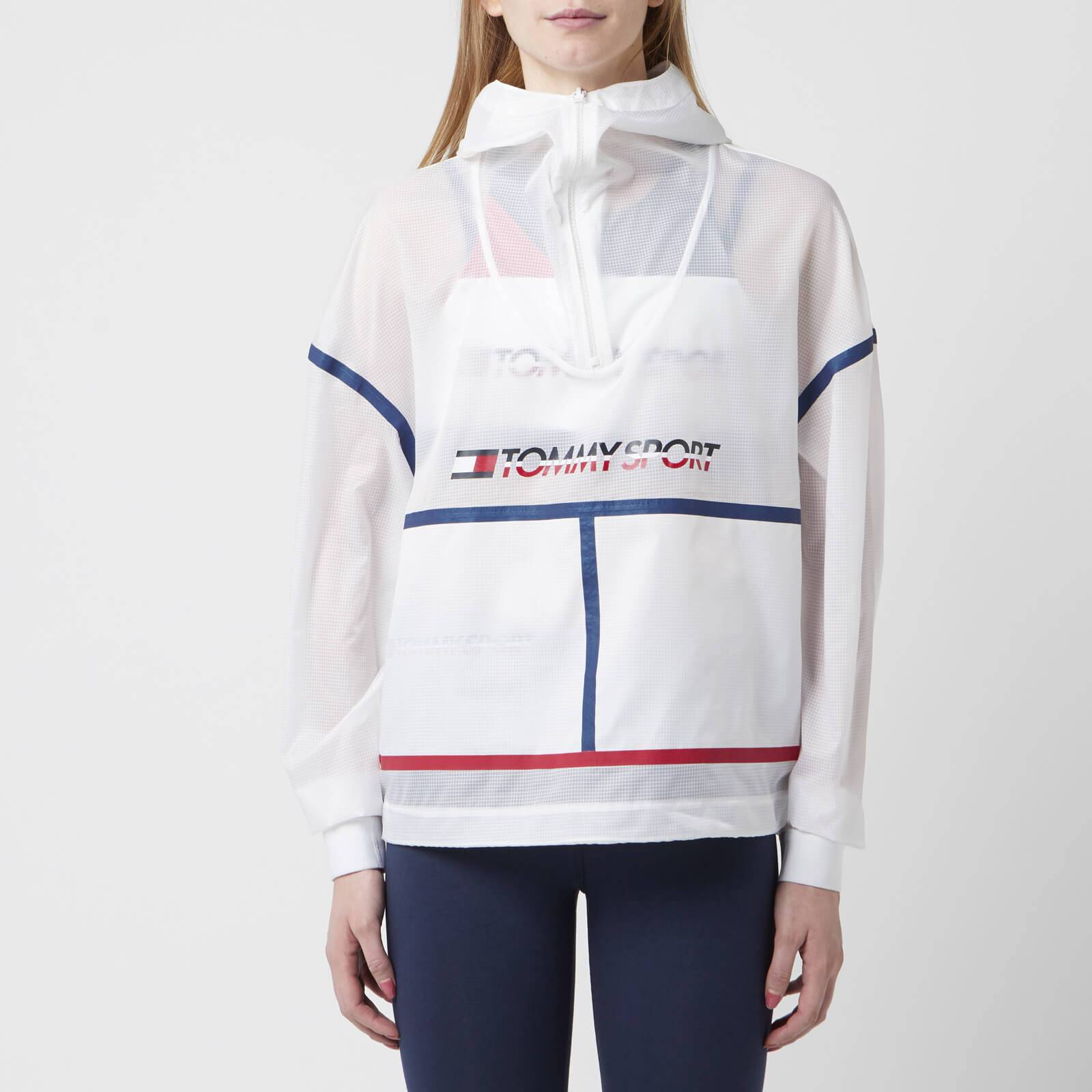 Tommy Hilfiger Sport Women's Packable Cagoule - PVH White - M - White