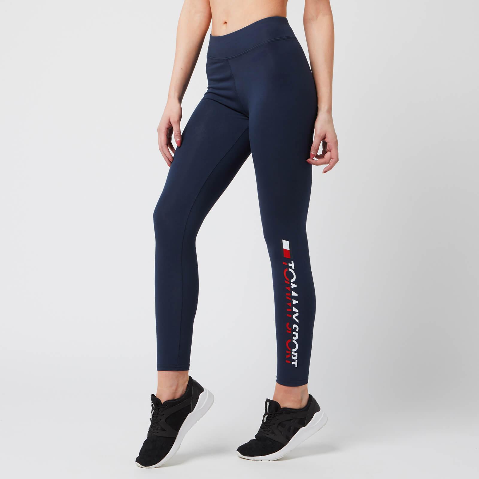Tommy Hilfiger Sport Women's 7/8 Leggings - Sport Navy - XS - Blue