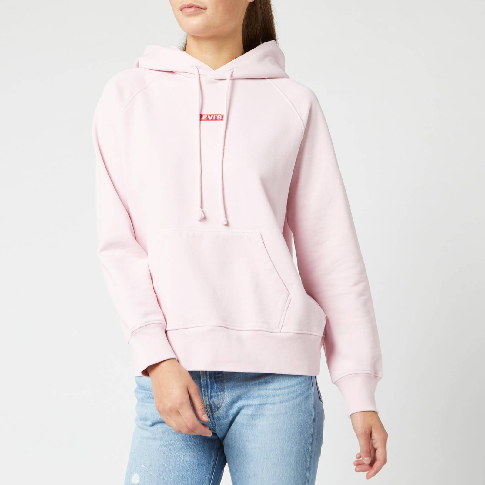 Levi's s Graphic Sport Hoodie - Pink Lady - M - Pink