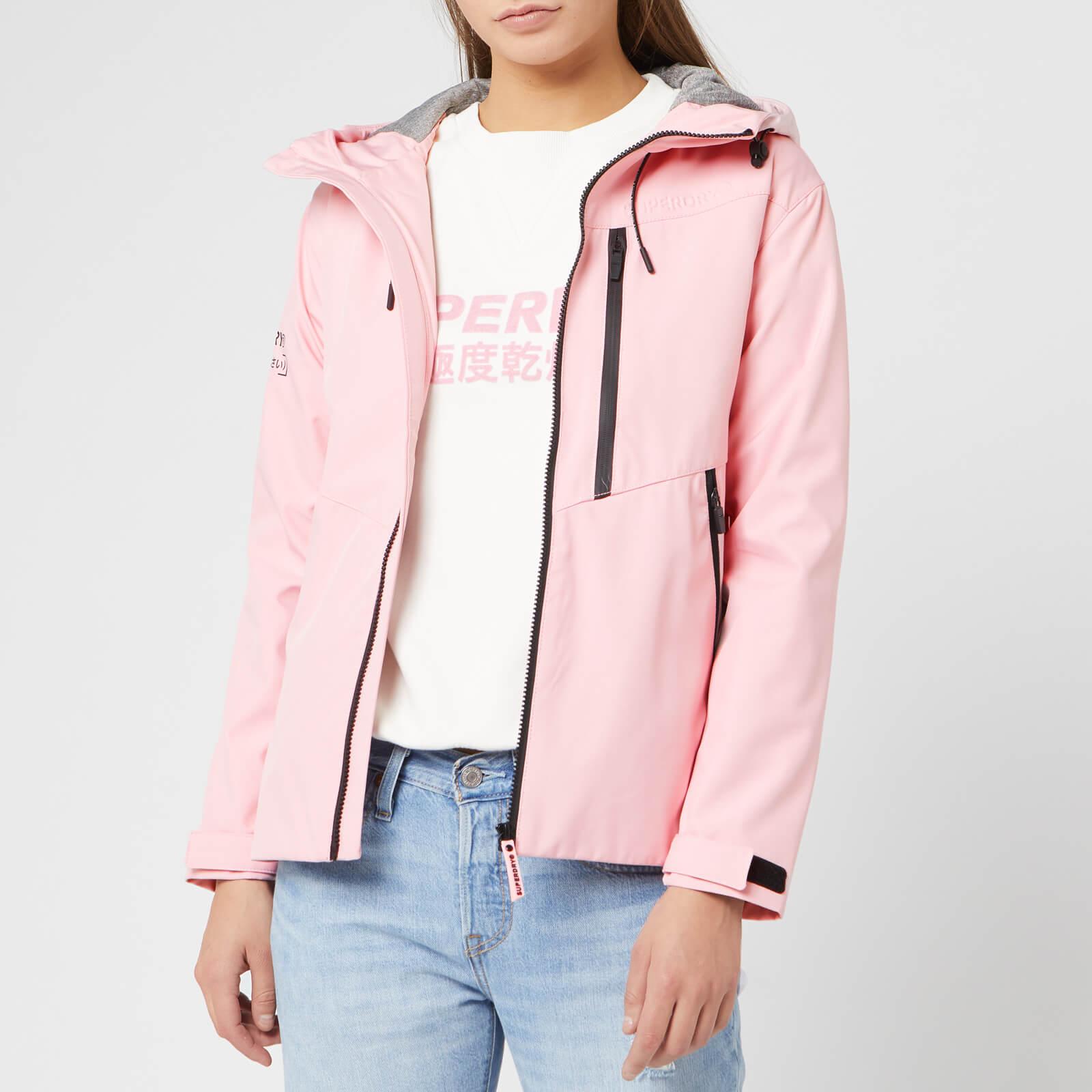 Superdry Women's Eclipse SD-Windcheater Jacket - Powder Pink - UK 12 - Pink