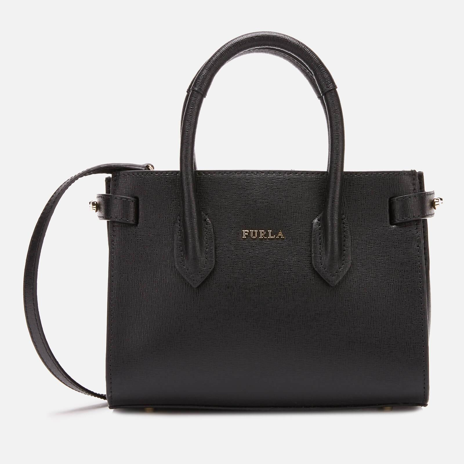 Furla Women's Pin Mini Tote Bag - Onyx