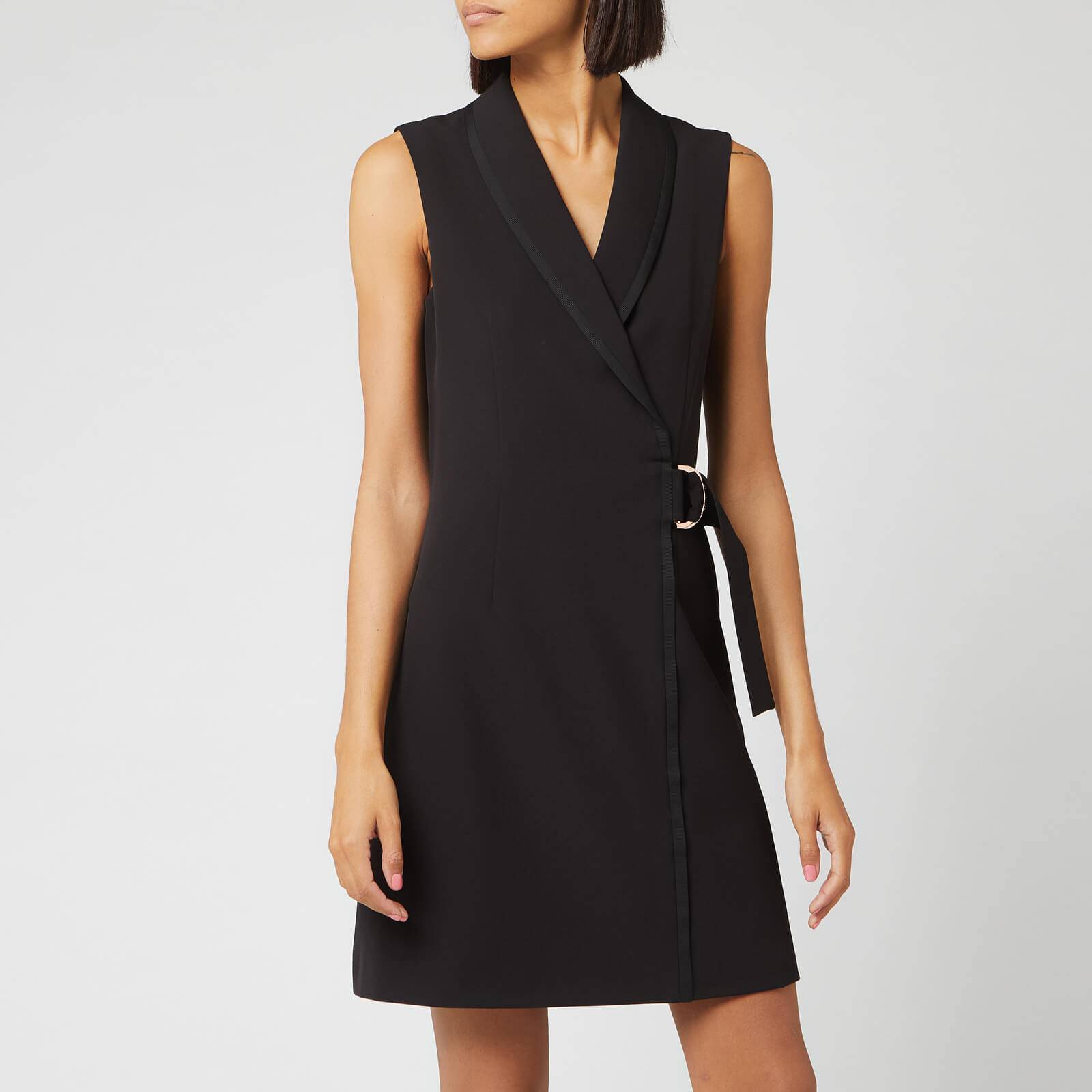Ted Baker Women's Adaard Ring Tailored Dress - Black - 2/UK 10 - Black