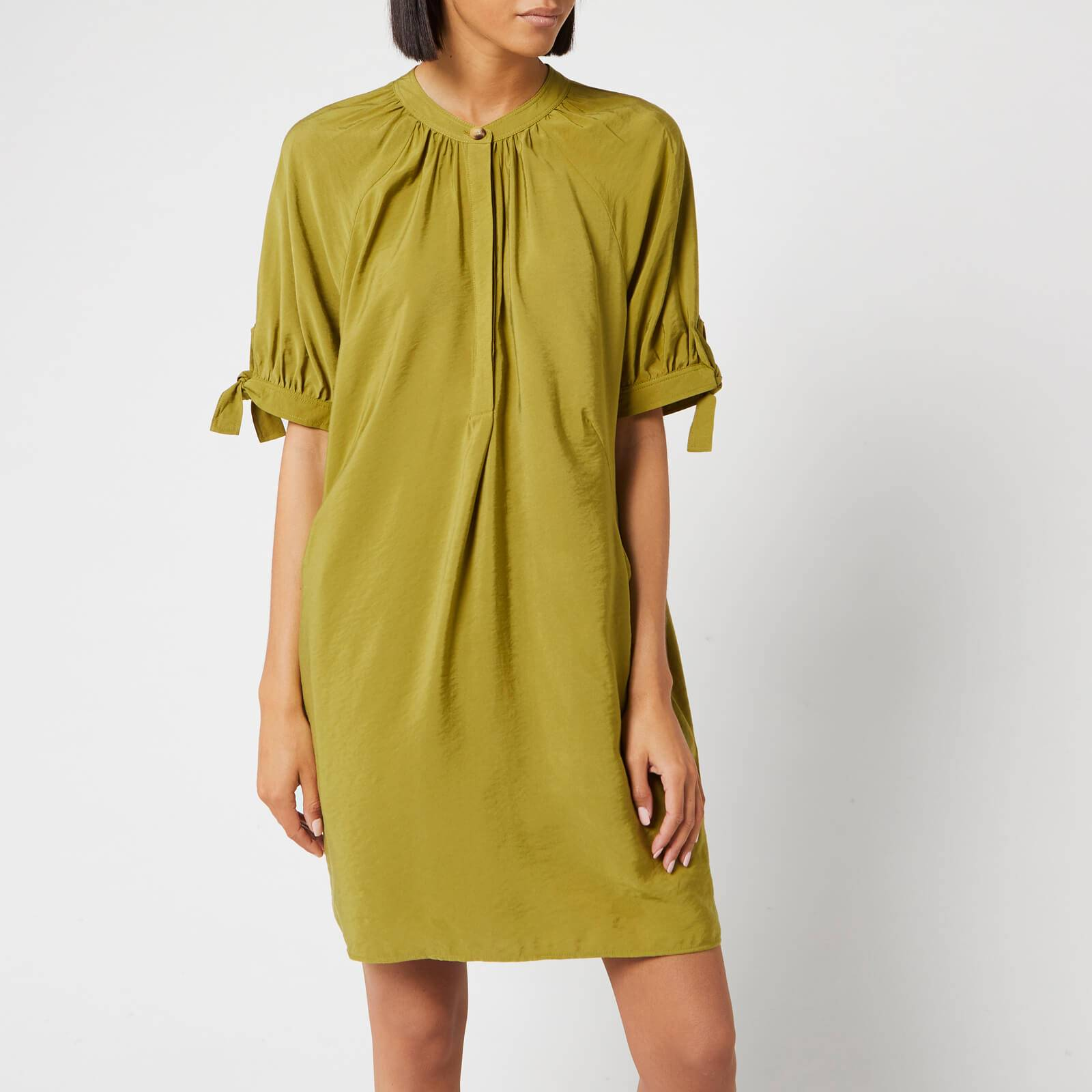 Whistles Women's Celestine Dress - Olive - L - Green