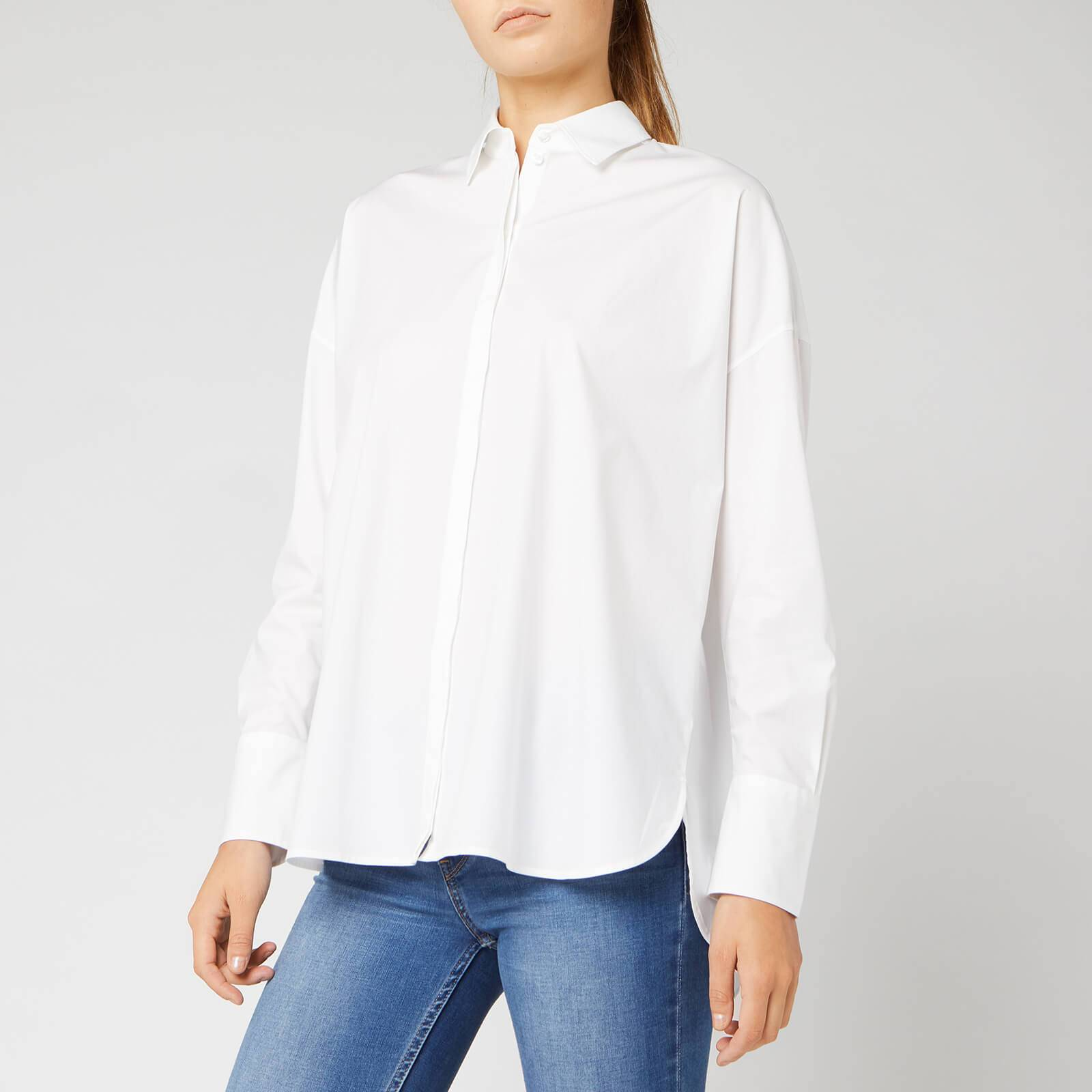 Hugo Boss Women's Elumia Shirt - White - M - White
