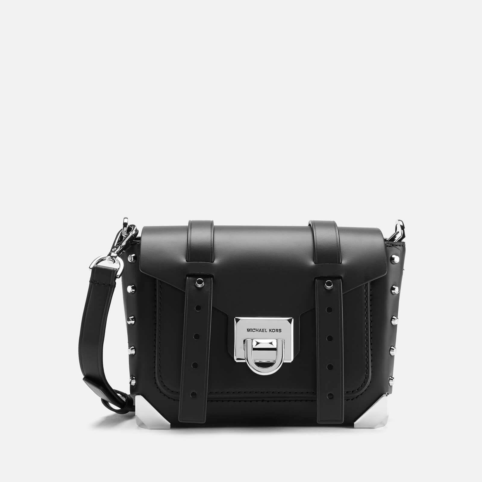 MICHAEL MICHAEL KORS Women's Manhattan Small Messenger Bag - Black
