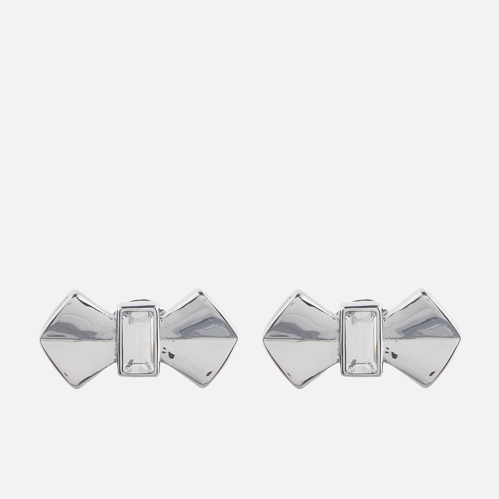 Ted Baker Women's Susli Solitaire Bow Stud Earrings - Silver