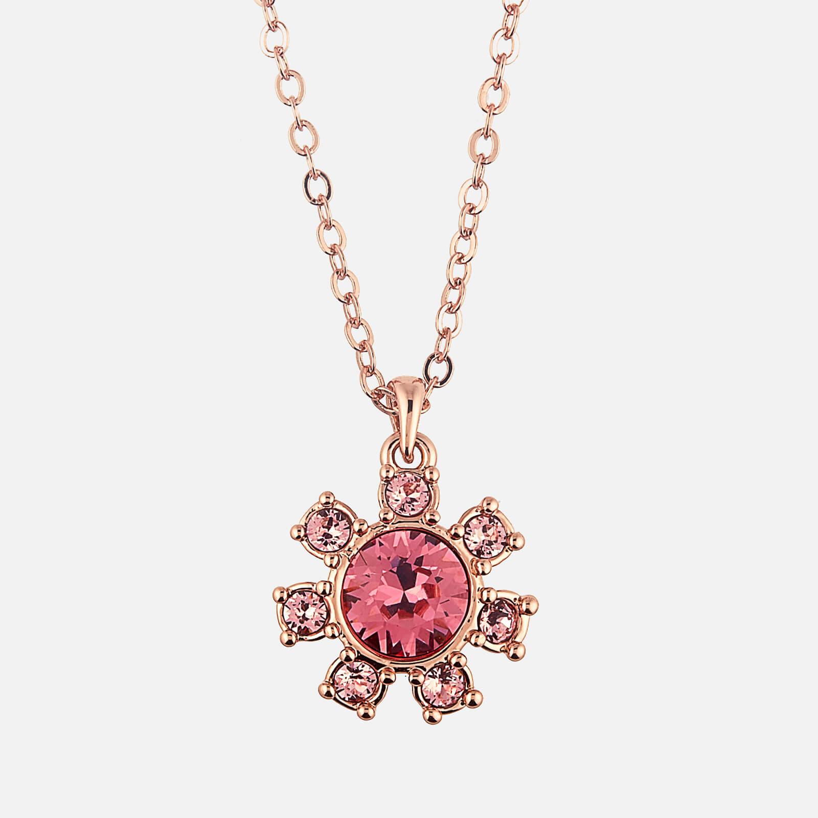 Ted Baker Women's Cessala Daisy Clockwork Pendant - Rose Gold