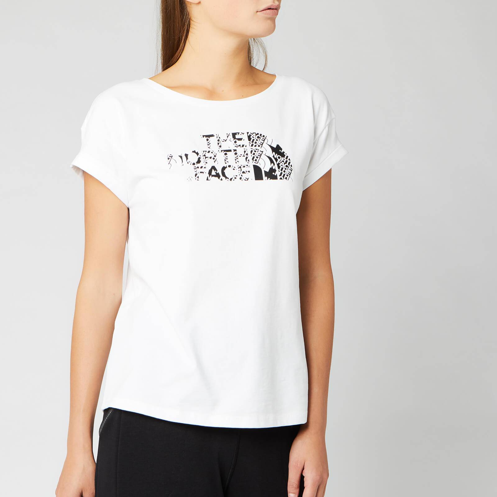 The North Face Women's Himalayan Short Sleeve T-Shirt - TNF White - L