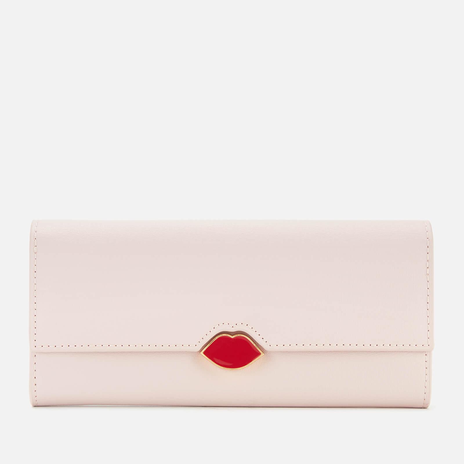 Lulu Guinness Women's Lips Cora Wallet - Blush