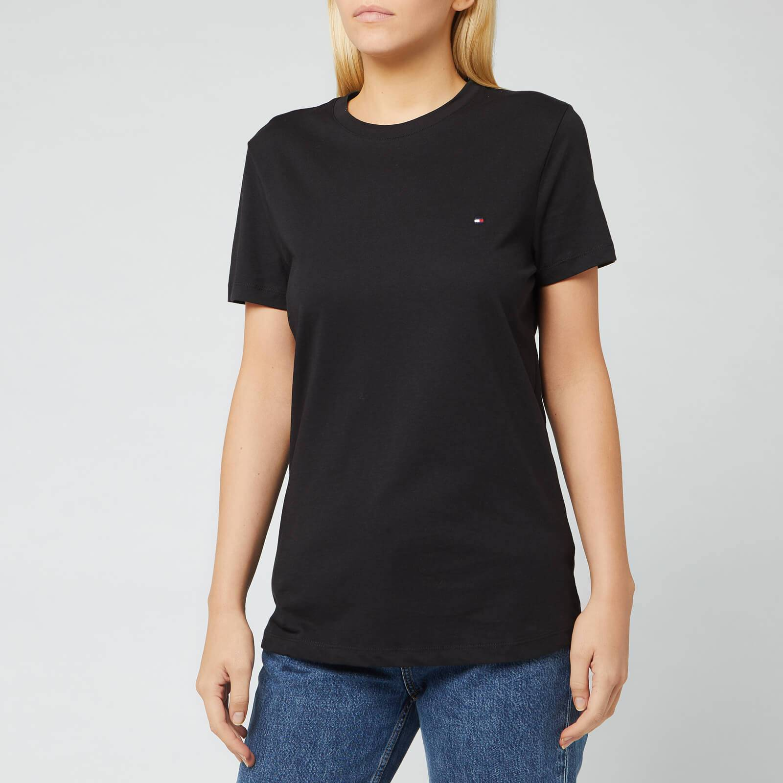 Tommy Hilfiger Women's Heritage Crew Neck T-Shirt - Masters Black - S