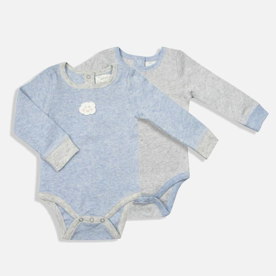 Albetta Set of 2 Minis Cloud and Bunny Baby Vests - 0-3 Months