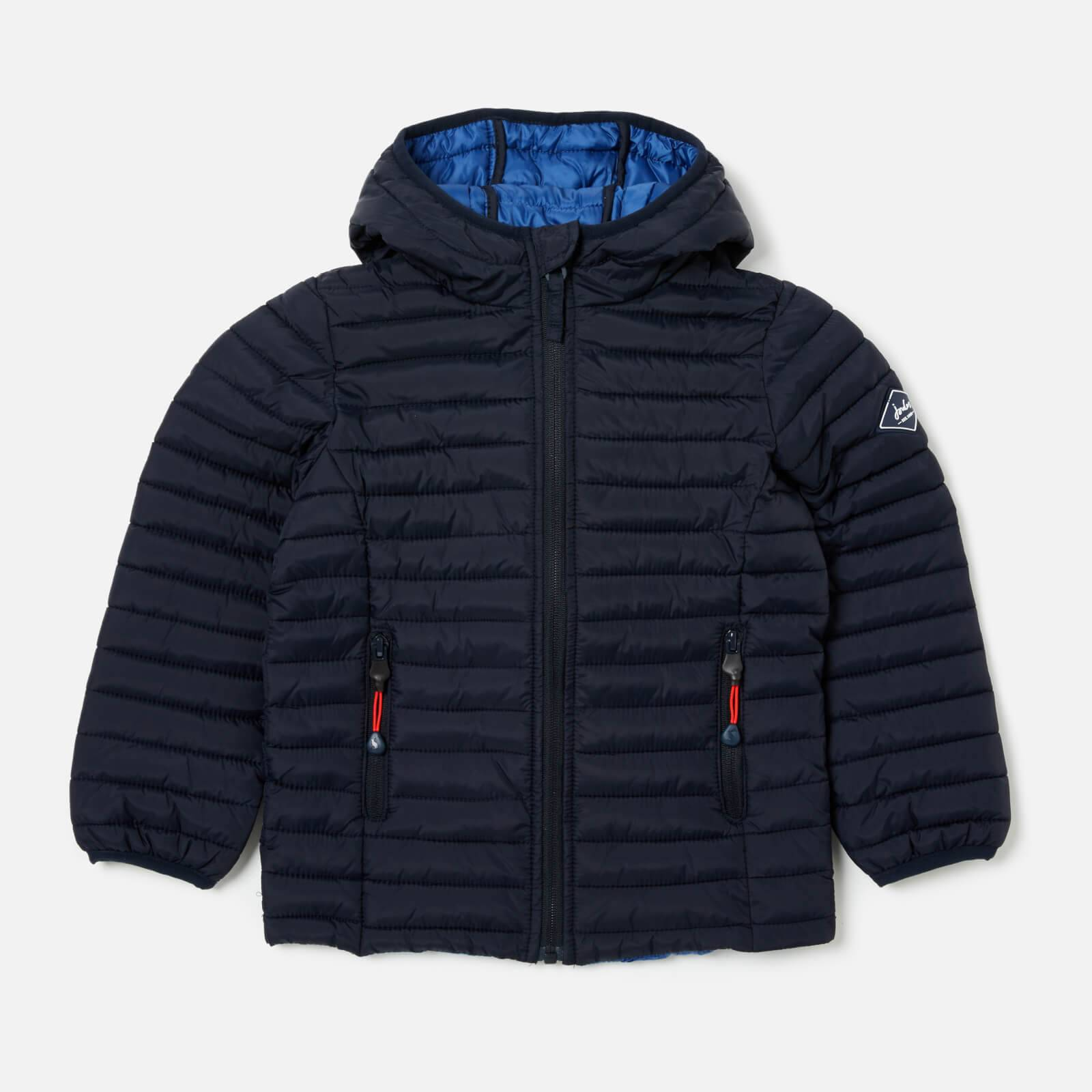 Joules Boys' Cairn Padded Jacket - Marine Navy - 4 Years - Blue