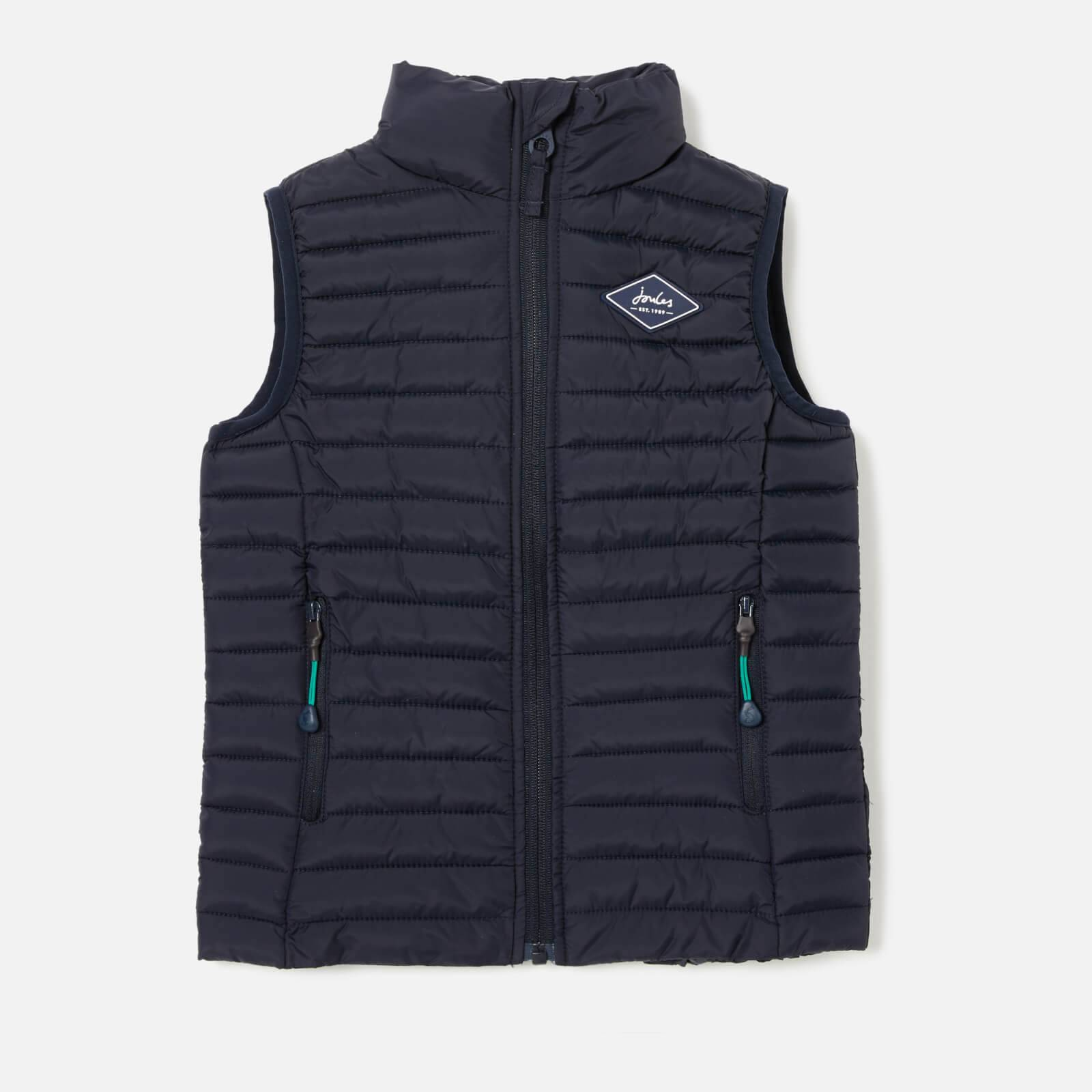 Joules Boys' Crofton Gilet - Marine Navy - 7-8 Years - Blue