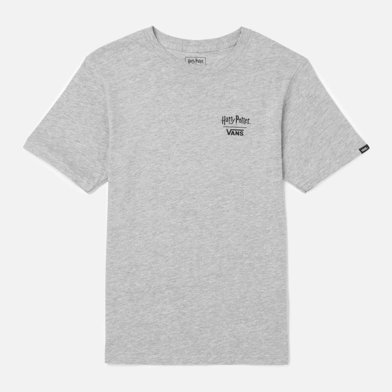 Vans X Harry Potter Kid's Crest T-Shirt - Heather - XL - Grey