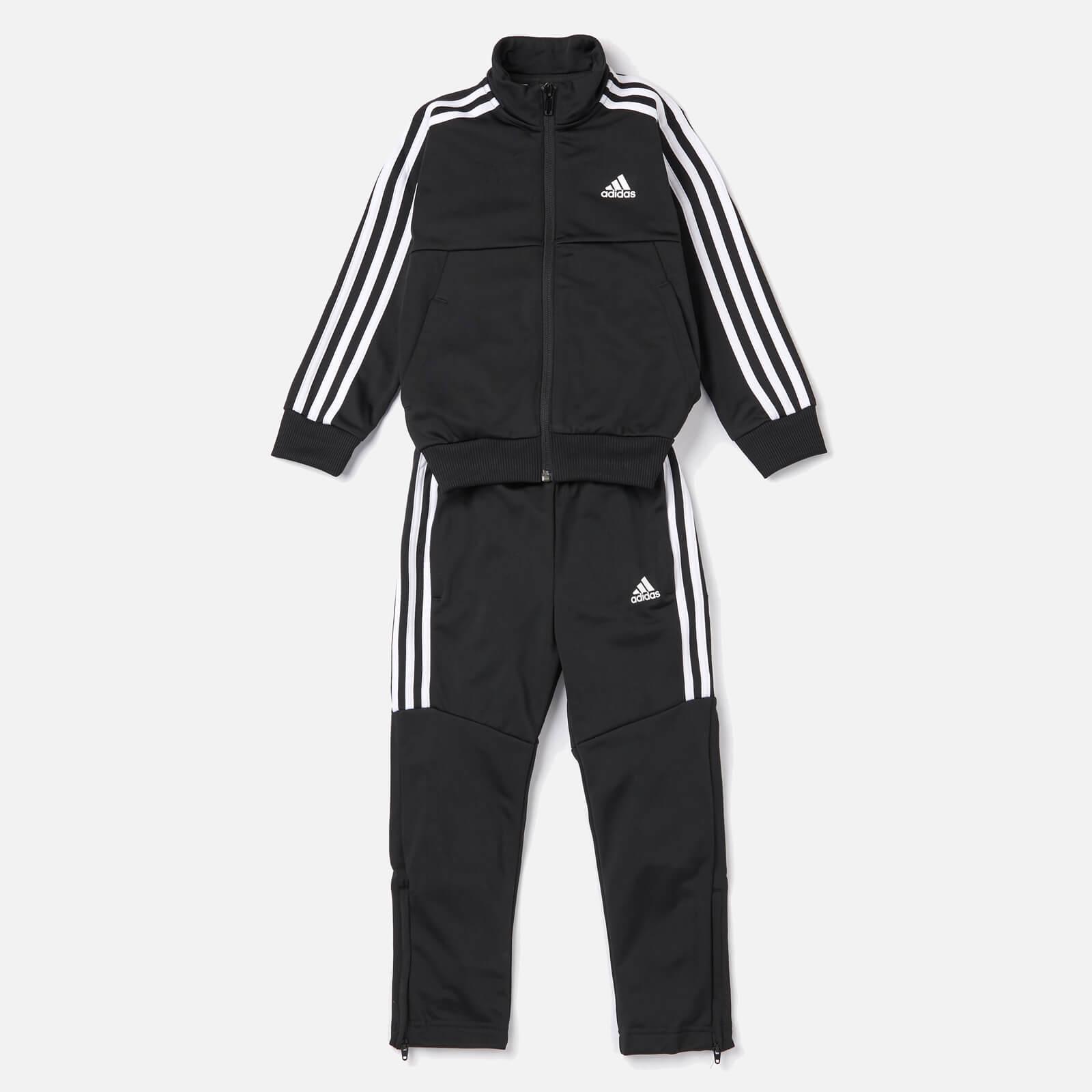 adidas Boys' Young Boys Tiro Tracksuit - Black - 9-10 Years