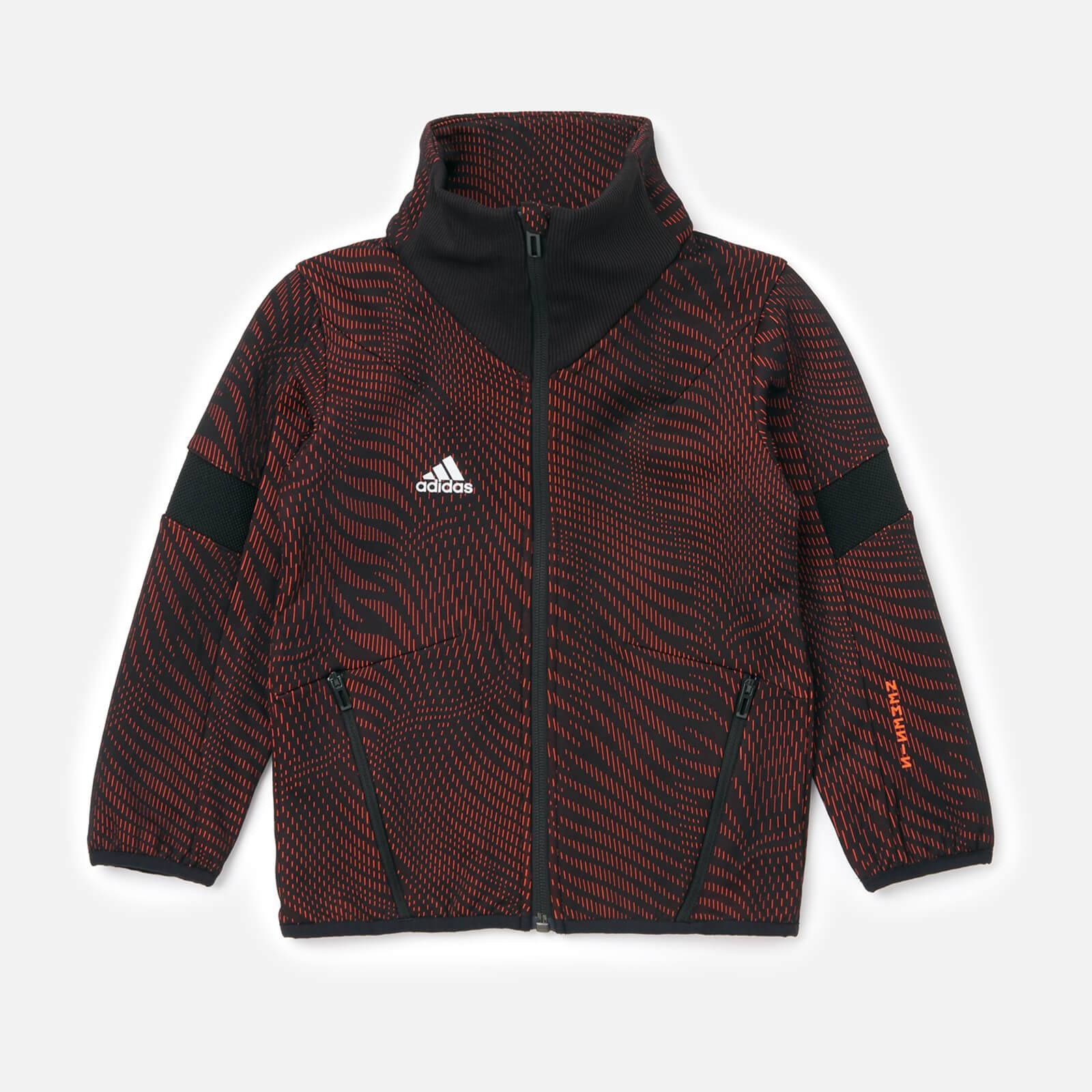 adidas Boys' Young Boys Nemis Top - Red - 7-8 Years