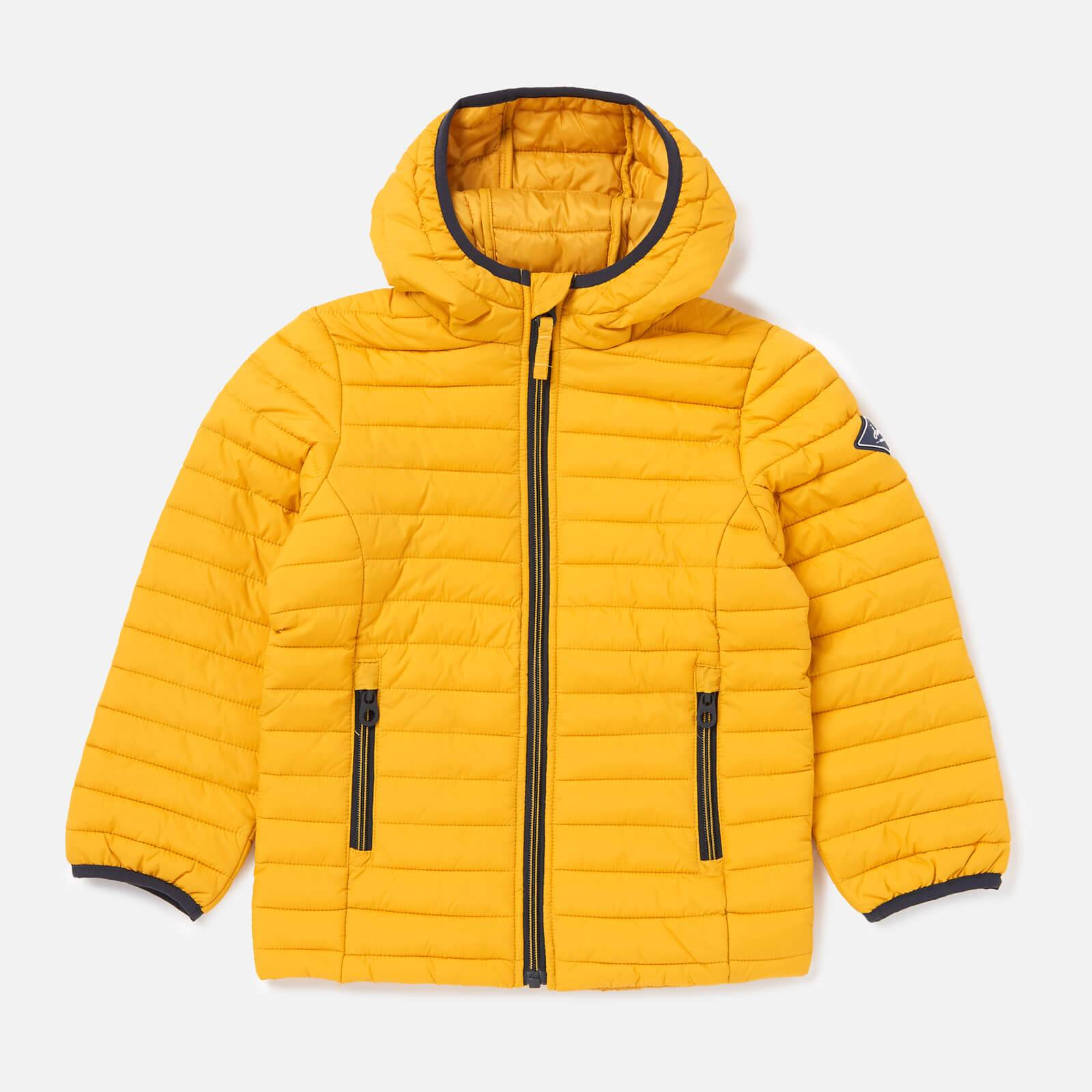 Joules Boys' Cairn Packaway Jacket - Antique Gold - 7-8 Years