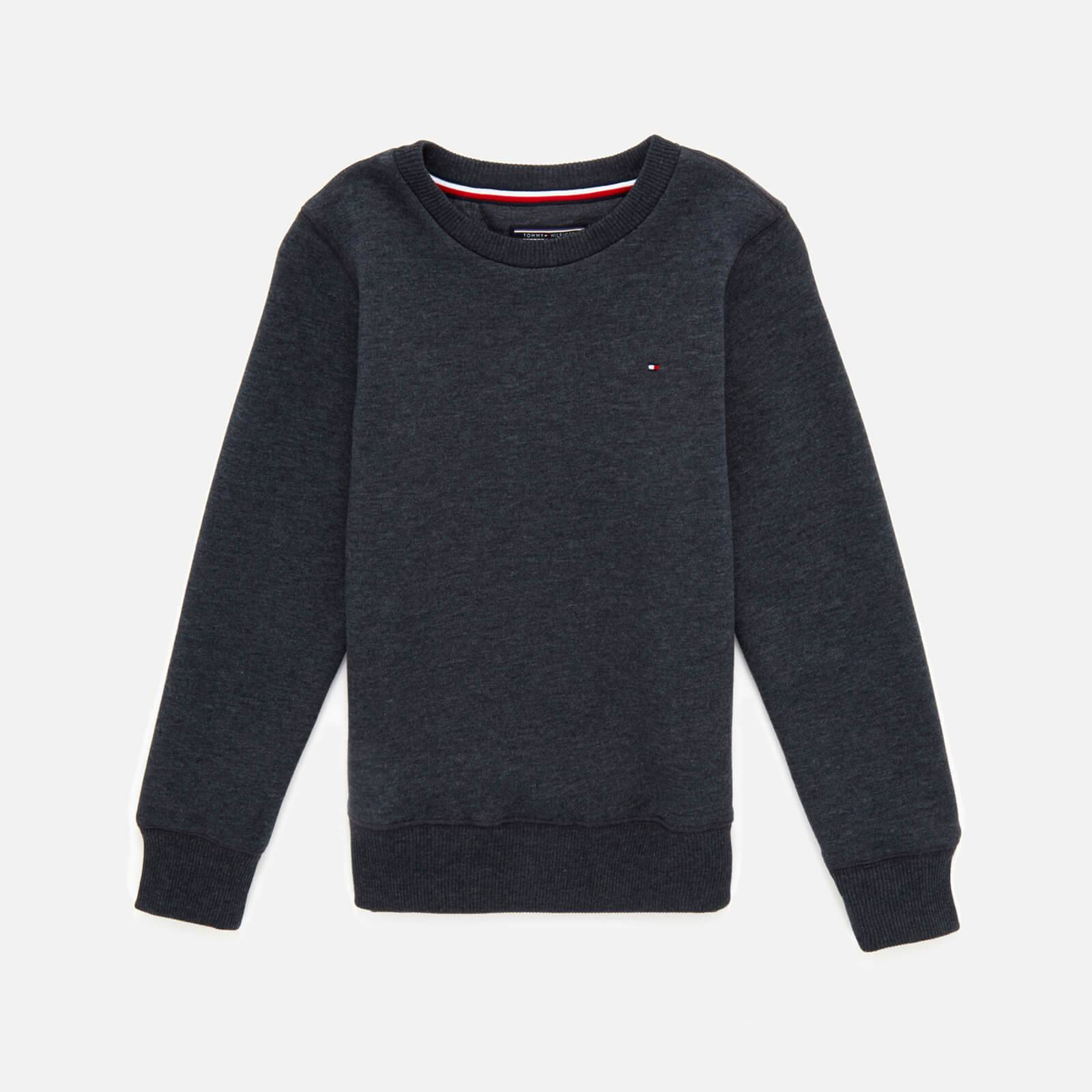 Tommy Kids Boys' Basic Sweatshirt - Sky Captain - 7 Years