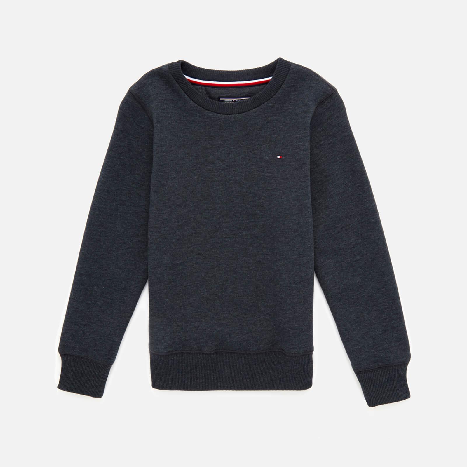 Tommy Kids Boys' Basic Sweatshirt - Sky Captain - 8 Years