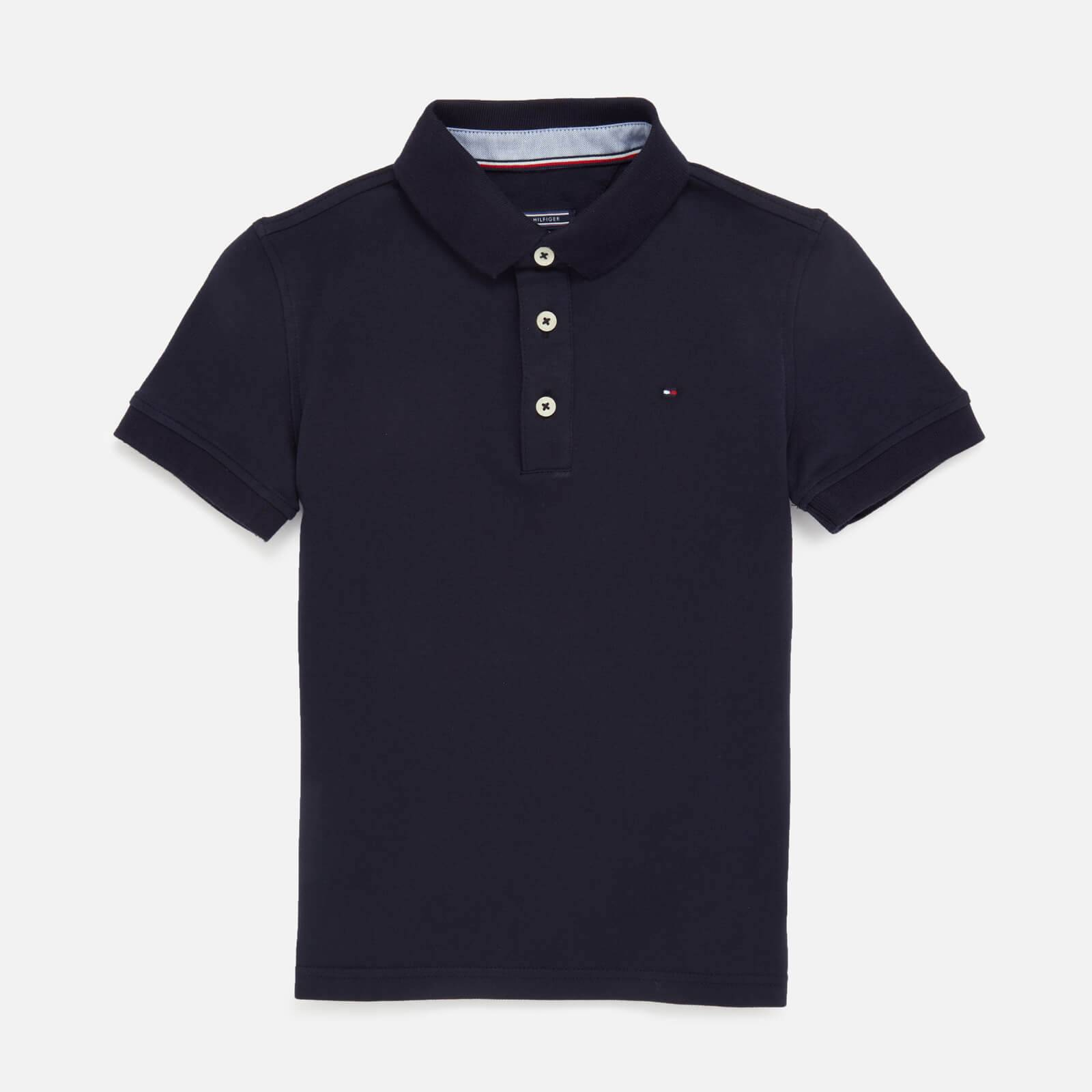 Tommy Kids Boys' Iconic Polo Shirt - Sky Captain - 12 Years