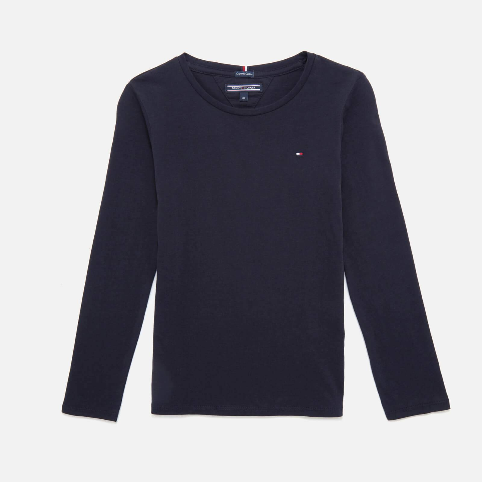 Tommy Kids Girls' Long Sleeve T-Shirt - Sky Captain - 7 Years