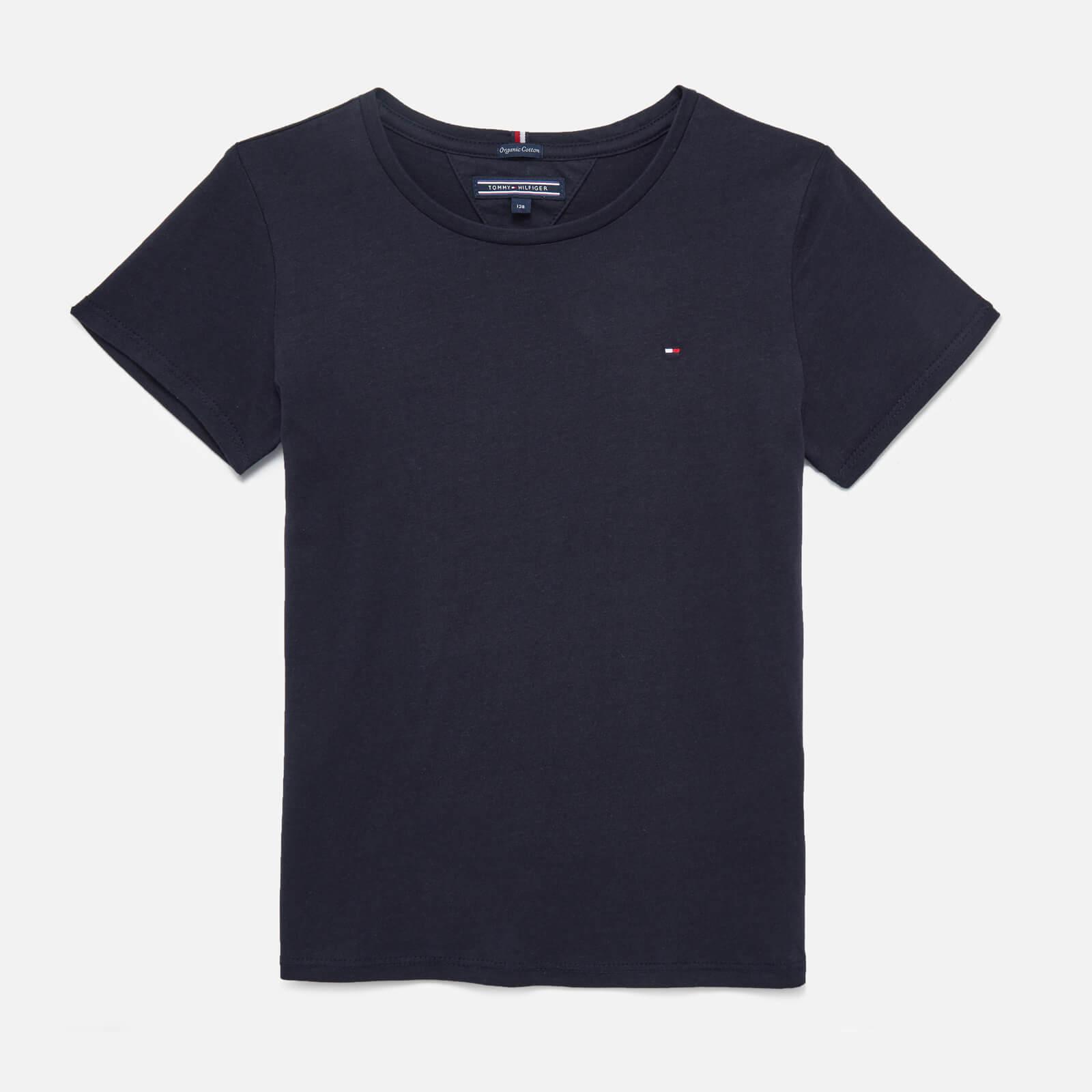 Tommy Kids Girls' Short Sleeve T-Shirt - Sky Captain - 10 Years