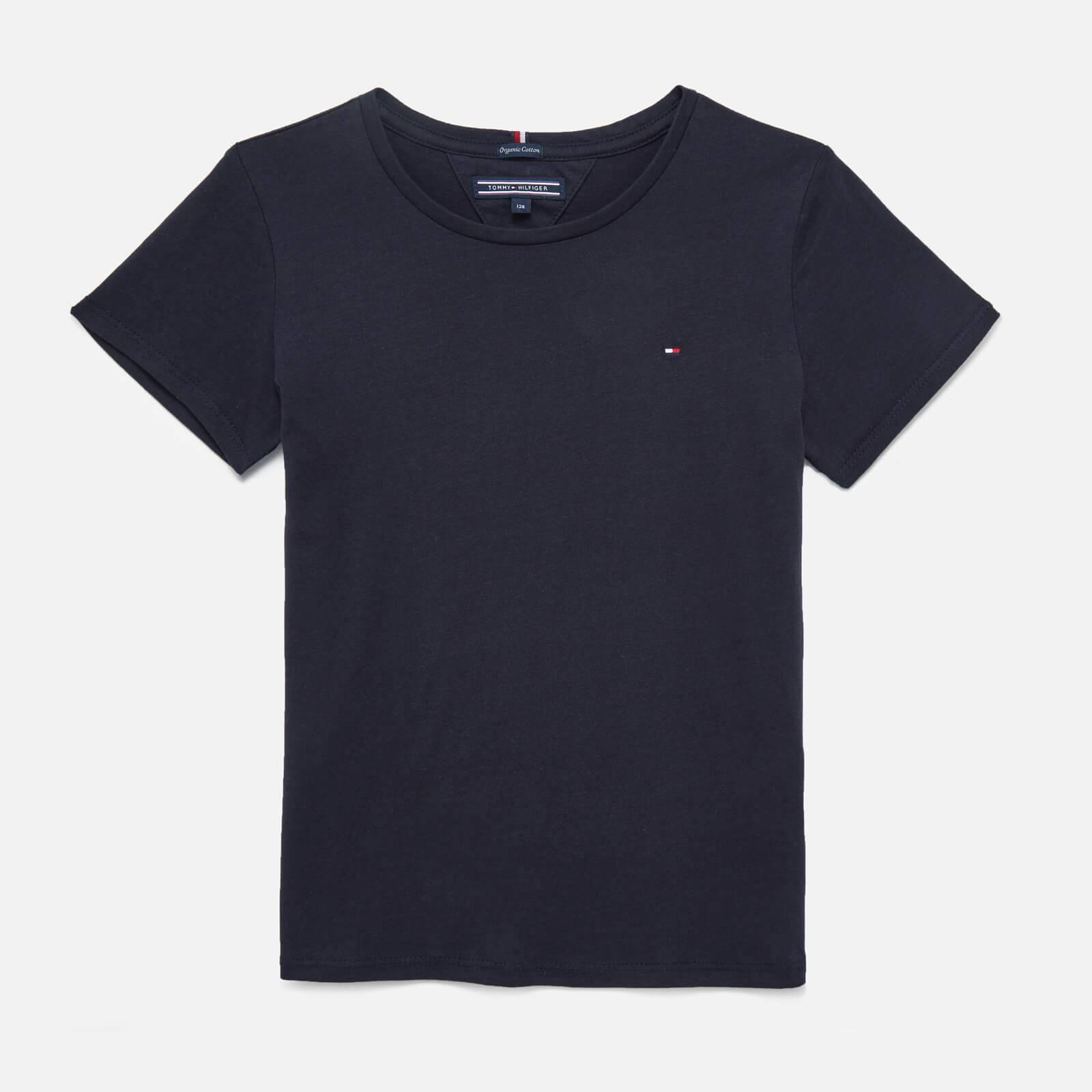 Tommy Kids Girls' Short Sleeve T-Shirt - Sky Captain - 8 Years