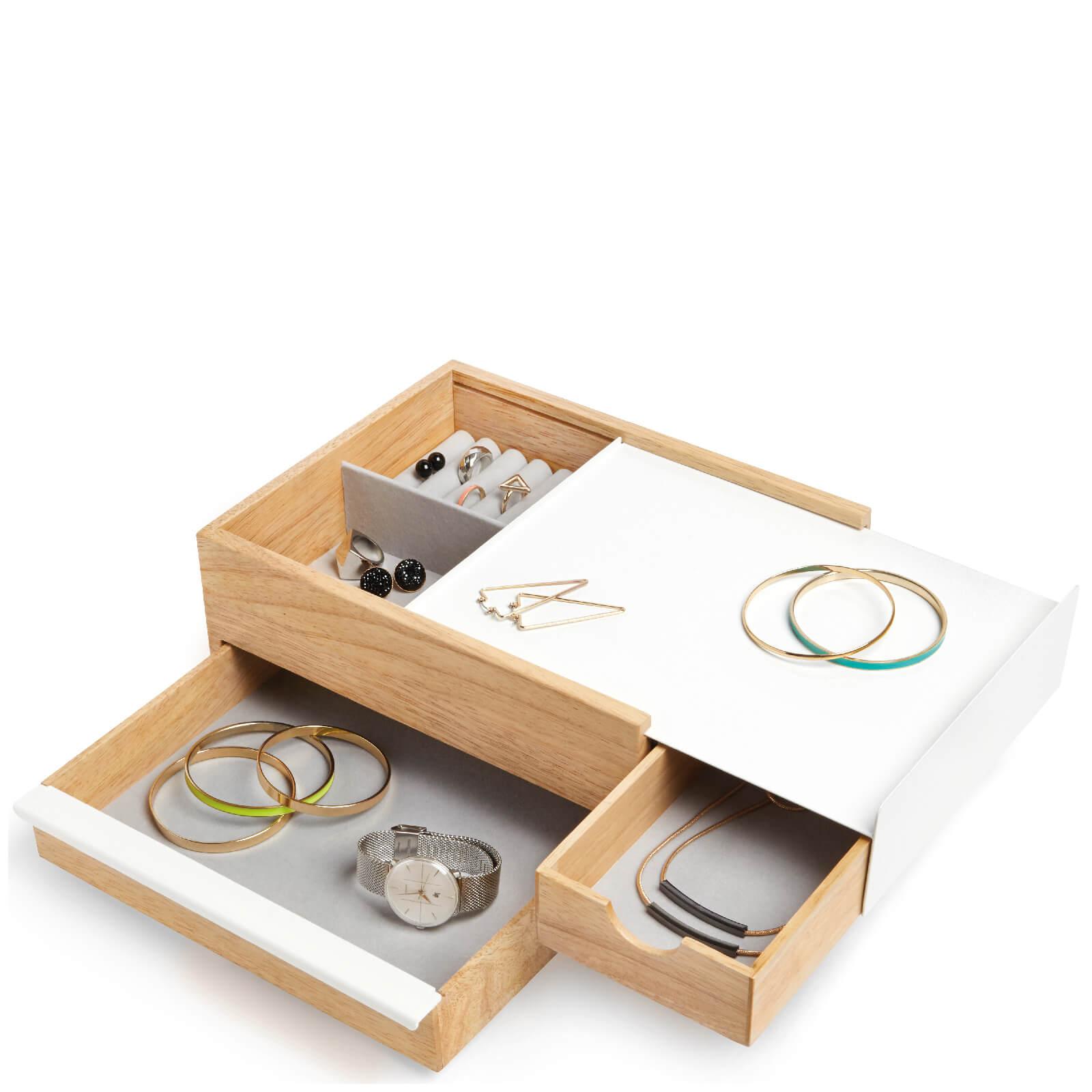 Umbra Stowit Jewellery Box - Natural