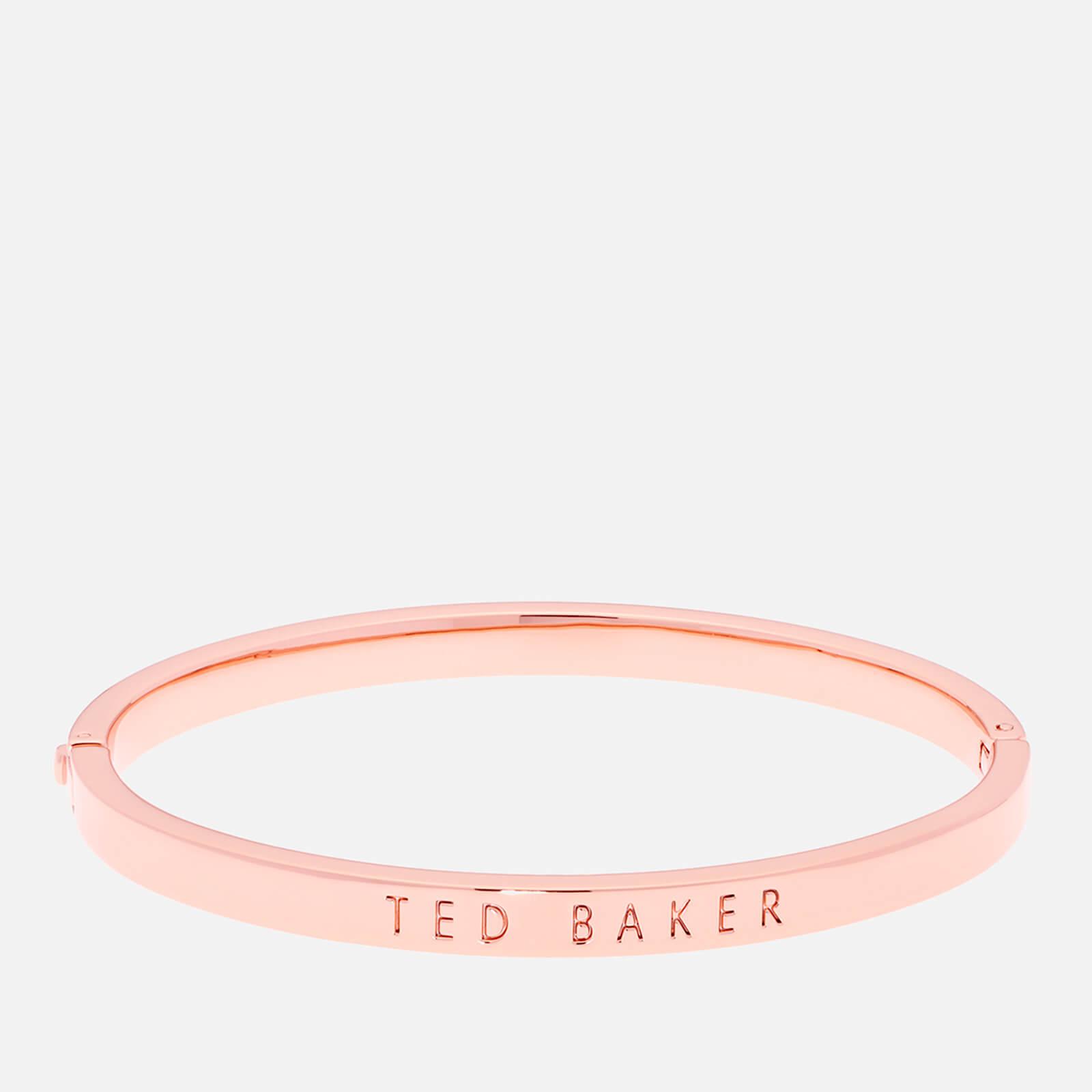 Ted Baker Women's Clemina Hinge Metallic Bangle - Rose Gold
