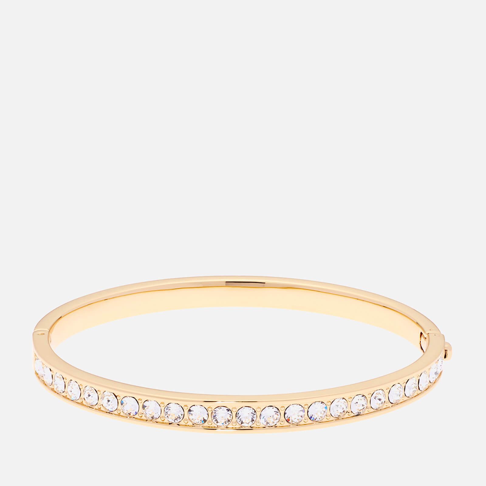 Ted Baker Women's Clemara Hinge Swarovski Crystal Bangle - Gold/Crystal - Rose Gold
