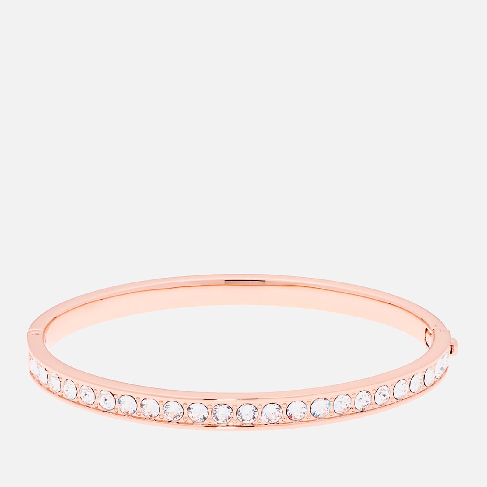 Ted Baker Women's Clemara Hinge Crystal Bangle - Rose Gold/Crystal - Silver