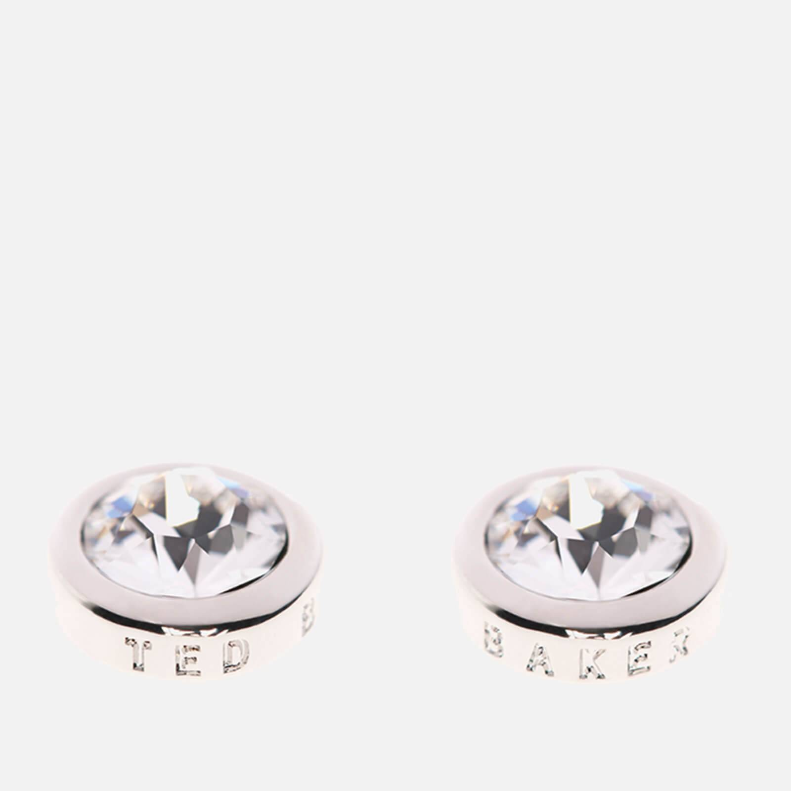 Ted Baker Women's Sinaa Swarovski Crystal Stud Earrings - Silver/Crystal - Rose Gold
