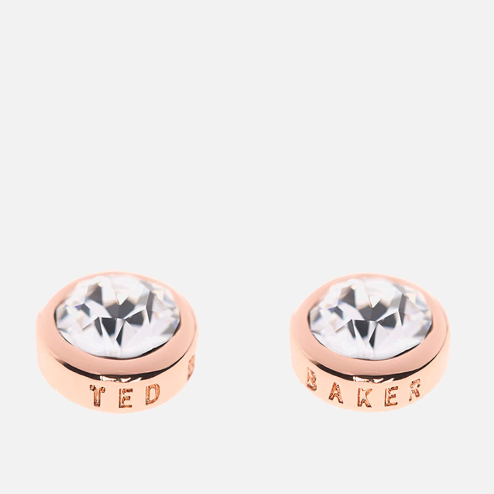 Ted Baker Women's Sinaa Swarovski Crystal Stud Earrings - Rose Gold/Crystal - Silver