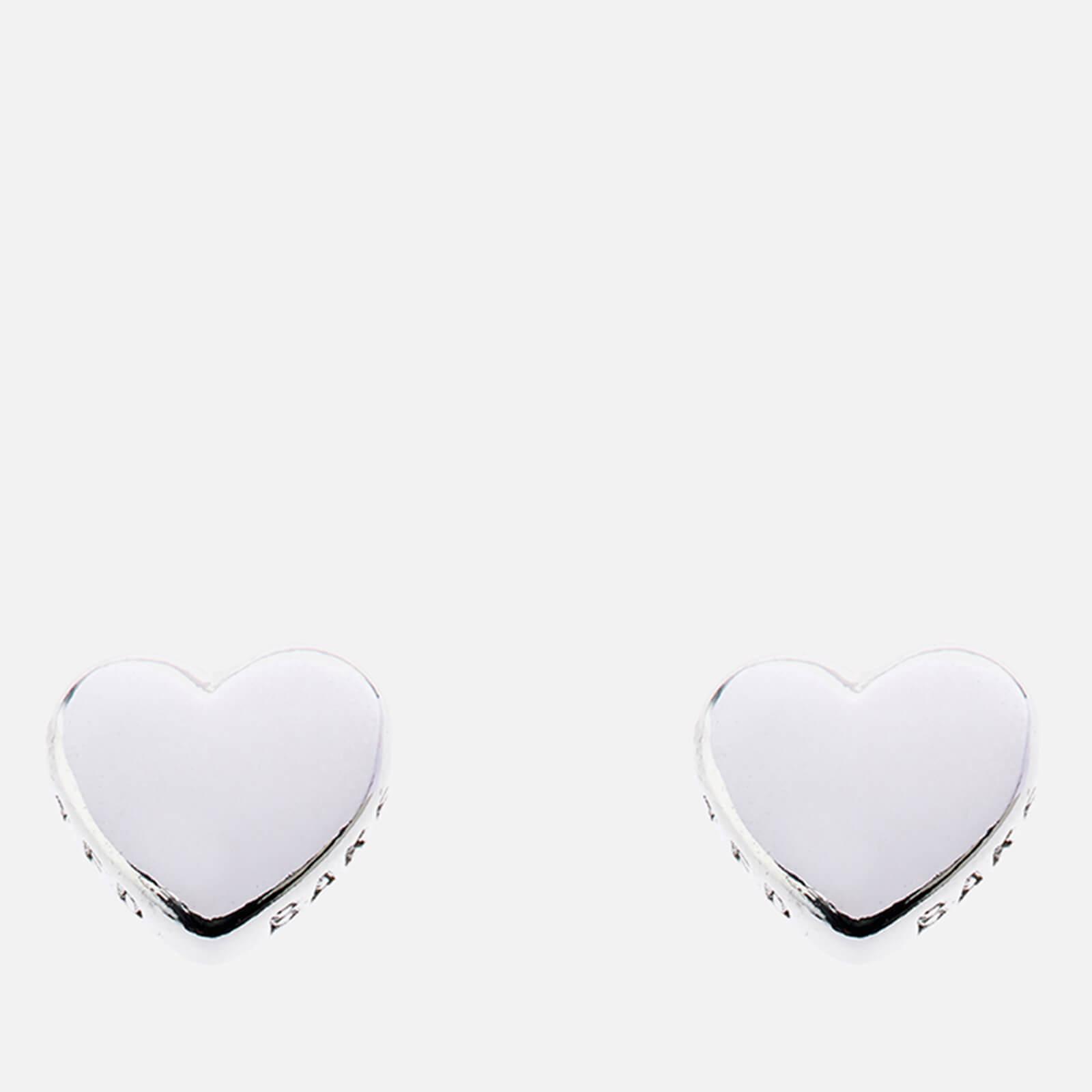 Ted Baker Women's Harly Tiny Heart Stud Earrings - Silver