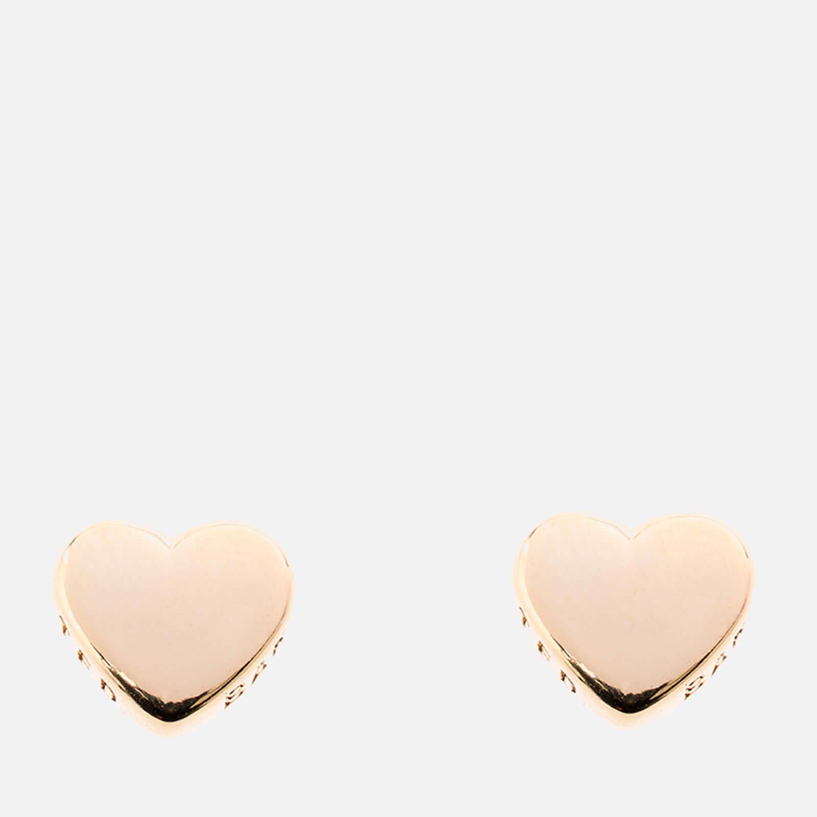 Ted Baker Women's Harly Tiny Heart Stud Earrings - Gold