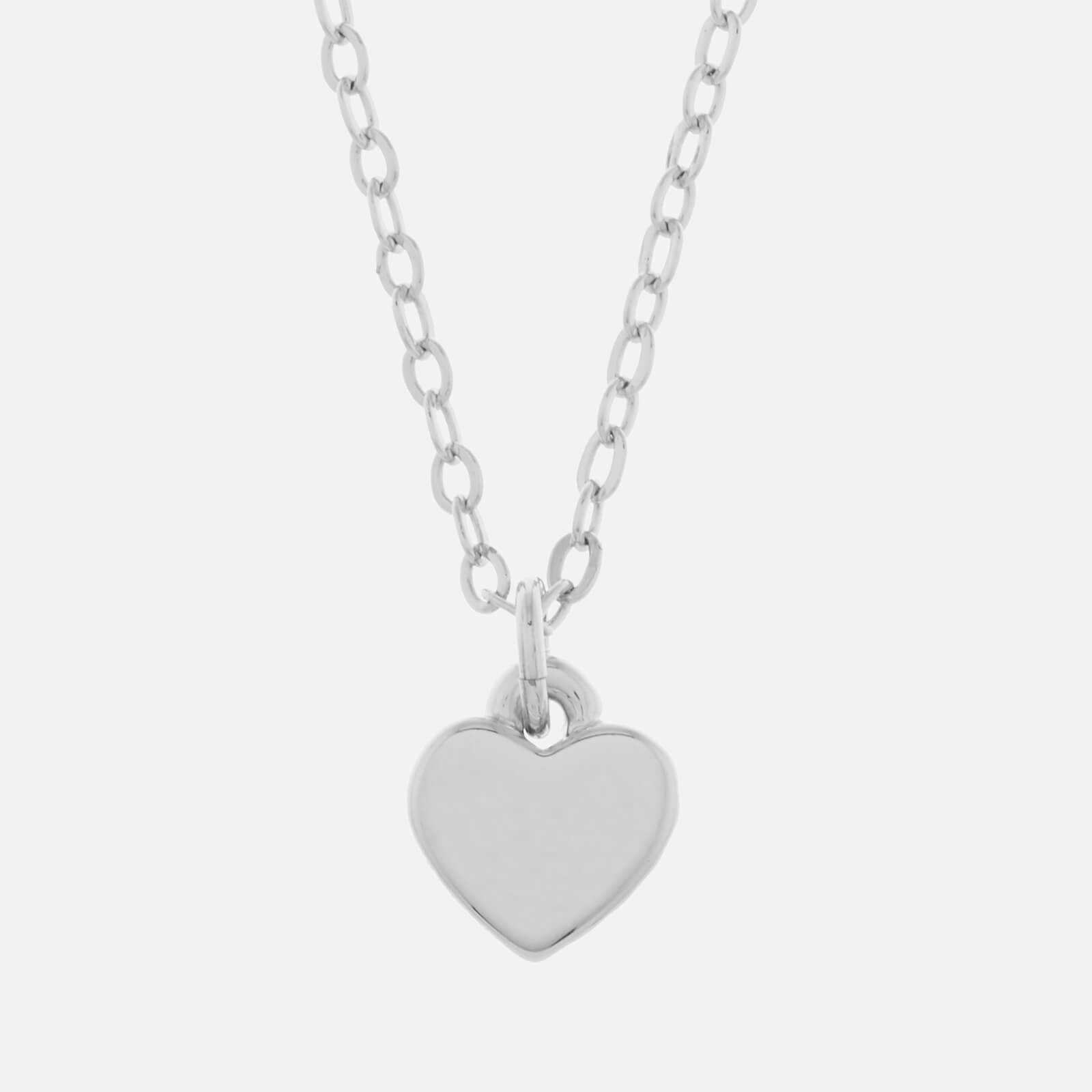 Ted Baker Women's Hara Tiny Heart Pendant Necklace - Silver - Rose Gold