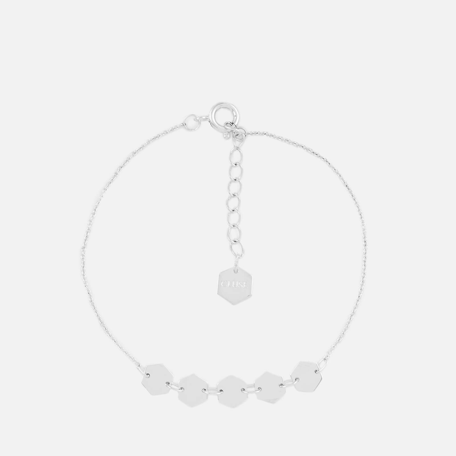Cluse Women's Essentielle Hexagons Chain Bracelet - Silver