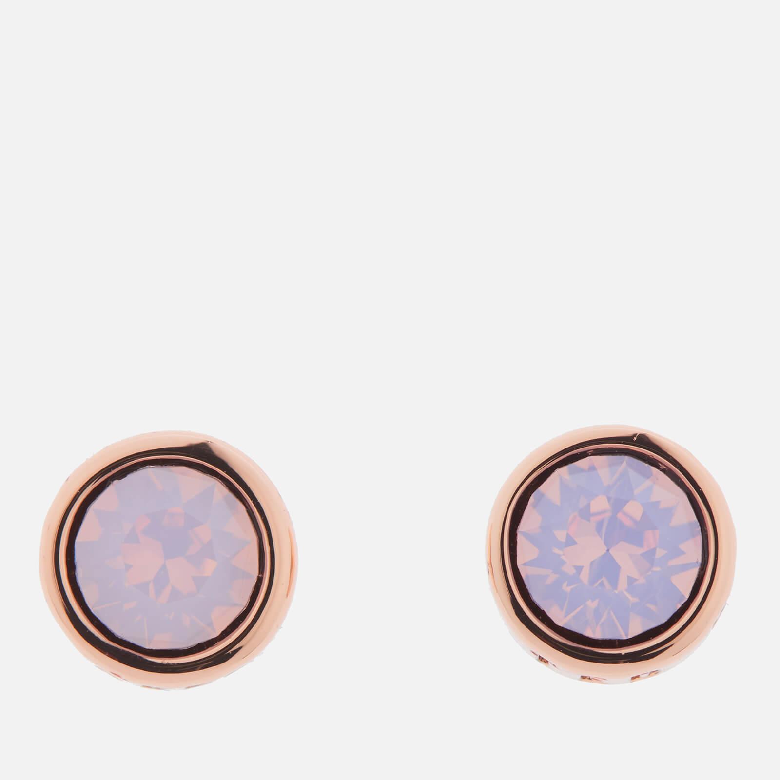 Ted Baker Women's Sinaa Swarovski Crystal Stud Earrings - Rose Gold/Rose Water Opal - Rose Gold