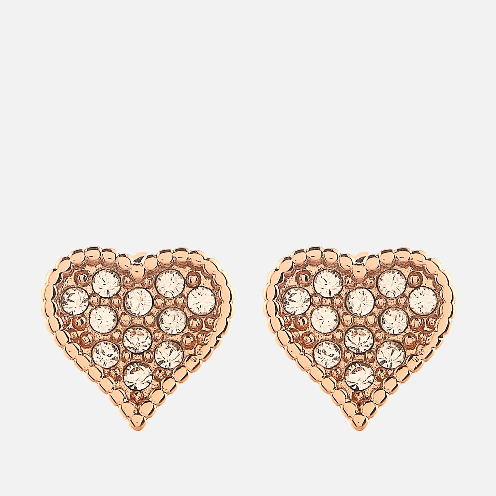 Ted Baker Women's Hanila Hidden Heart Stud Earrings - Rose Gold