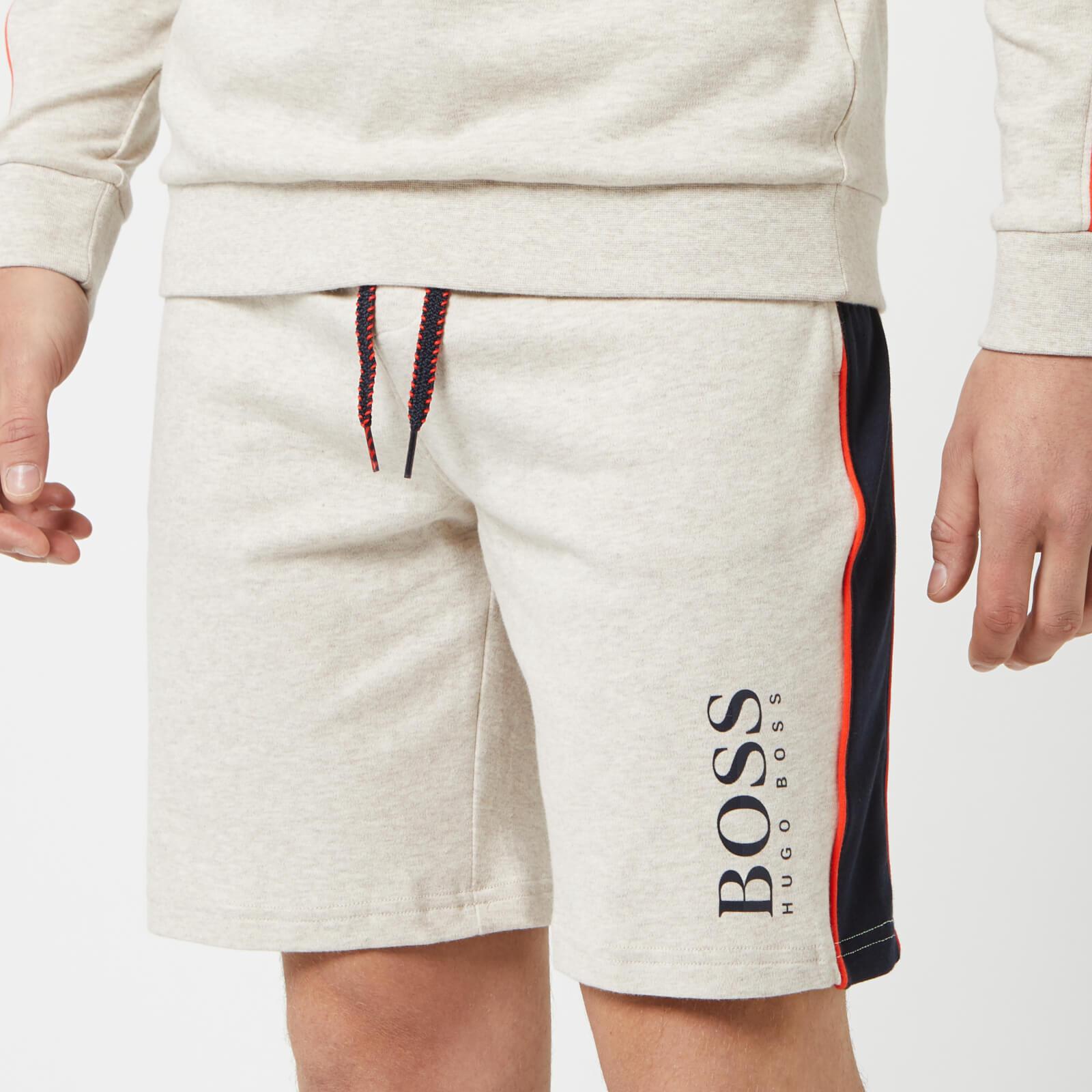 Boss Hugo Boss Men's Stripe Detail Shorts - Grey - M - Grey