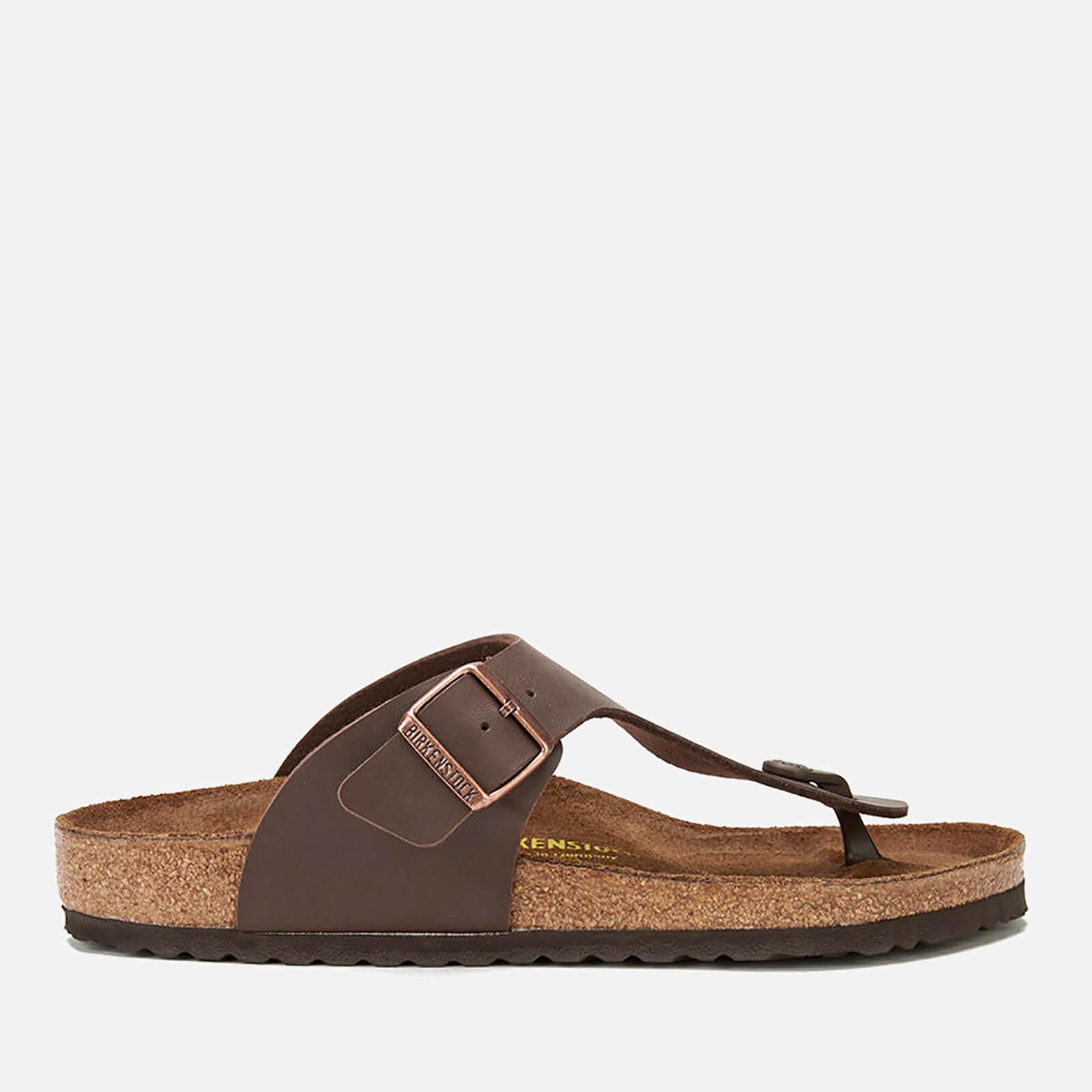 Birkenstock Men's Ramses Toe Post Sandals - Dark Brown - EU 41/UK 7.5