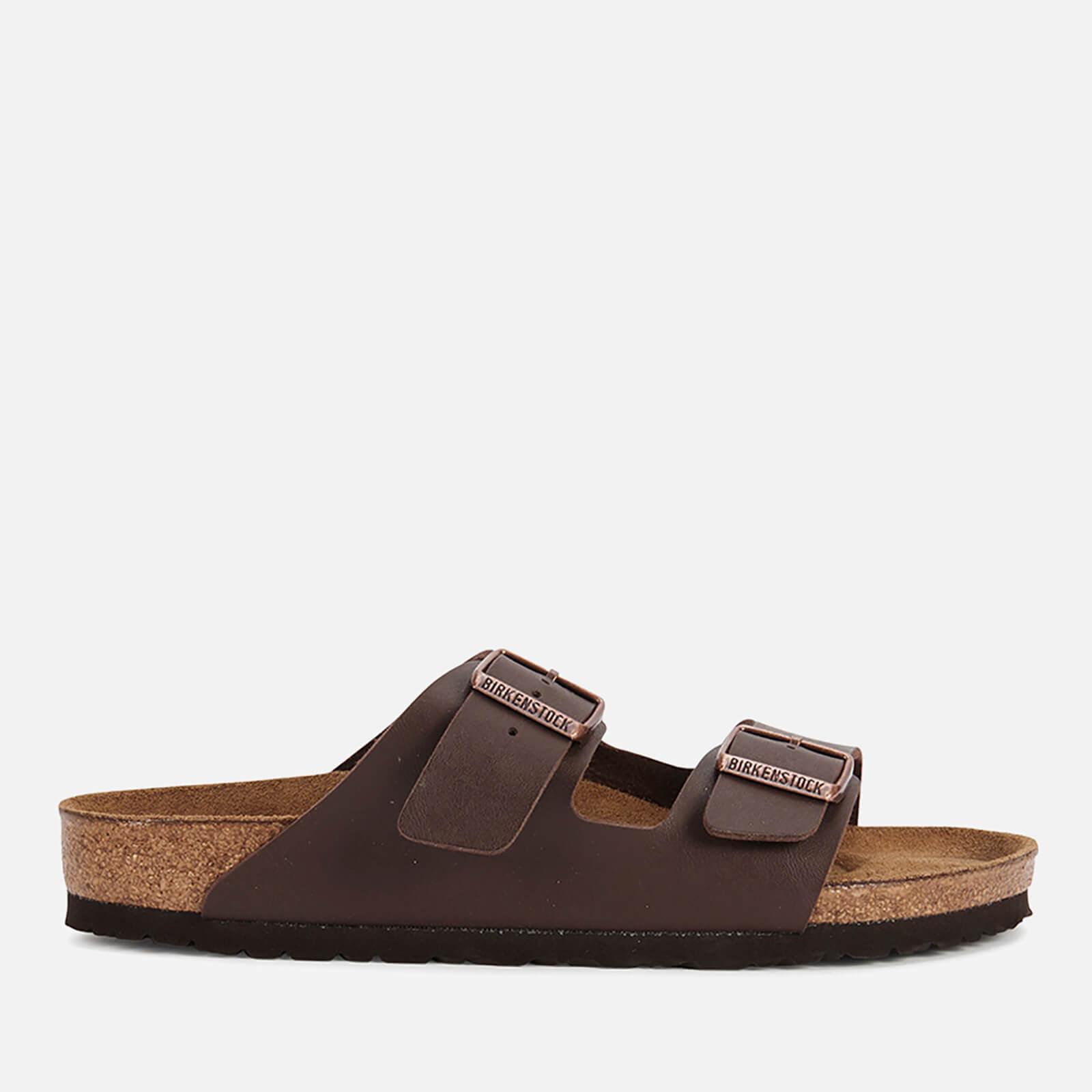 Birkenstock Men's Arizona Double Strap Sandals - Dark Brown - EU 45/UK 10.5
