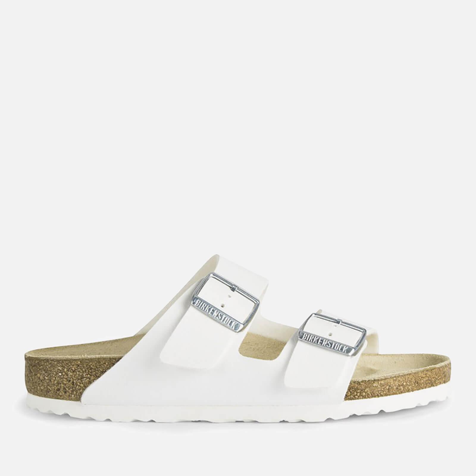 Birkenstock Women's Arizona Slim Fit Double Strap Sandals - White - EU 39/UK 5.5