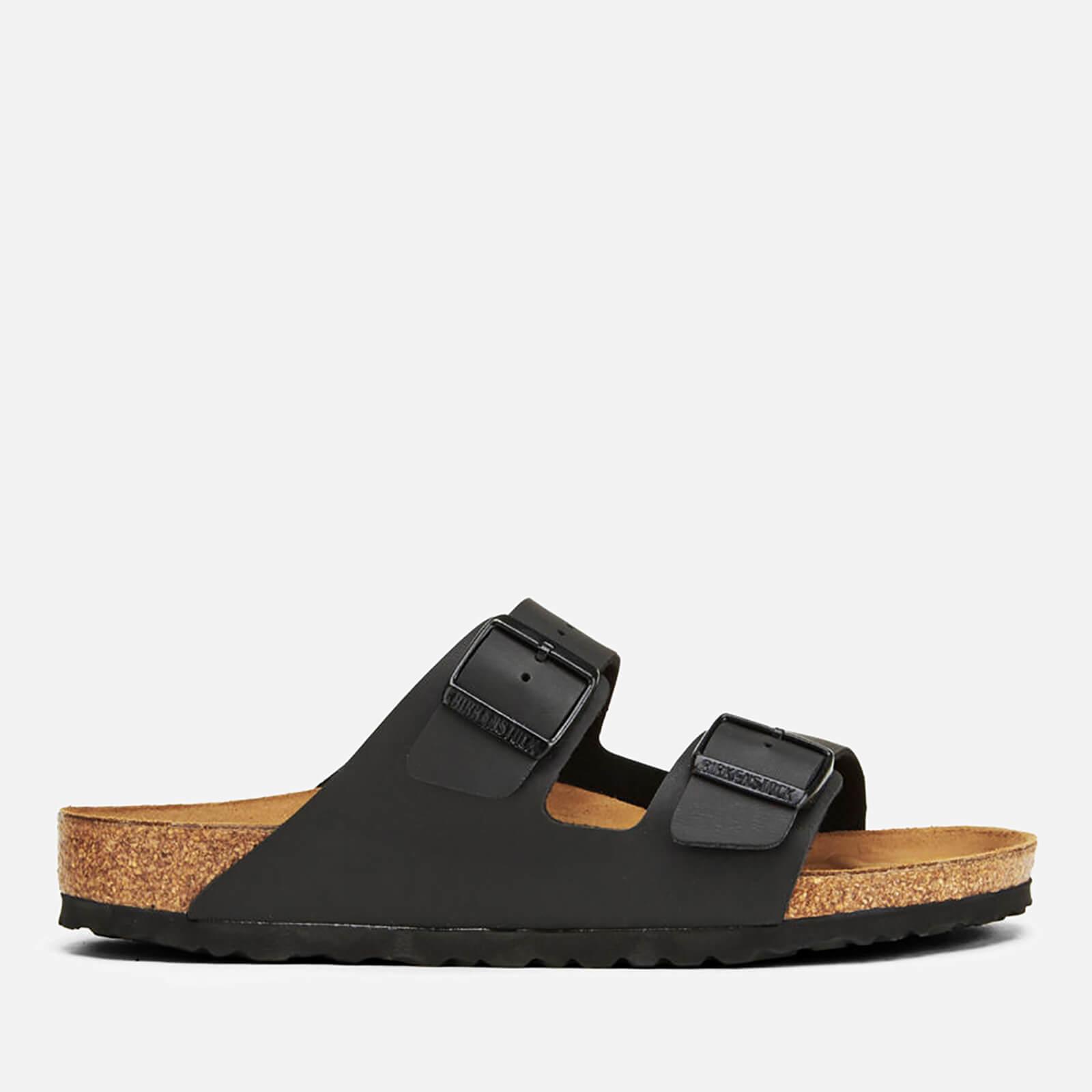 Birkenstock Men's Arizona Double Strap Sandals - Black - EU 41/UK 7.5