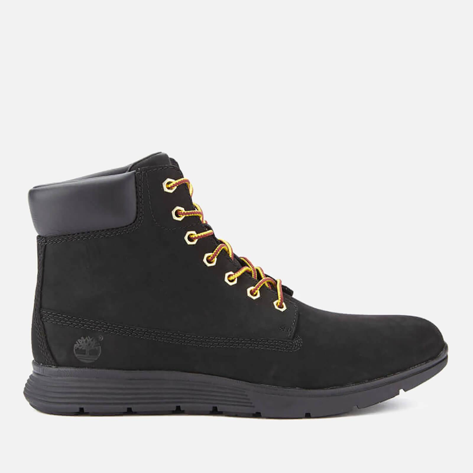 Timberland Men's Killington 6 Inch Boots - Black Nubuck - UK 9