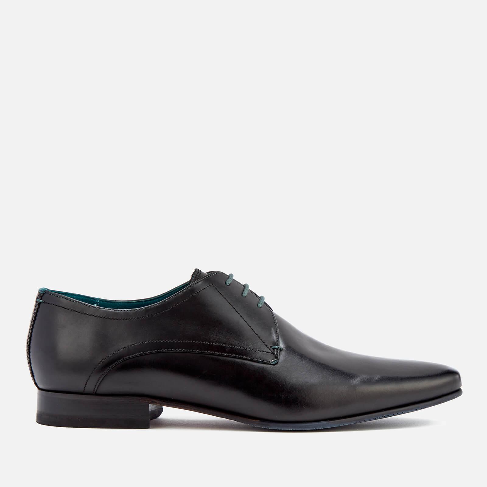Ted Baker Men's Bhartli Leater Derby Shoes - Black - UK 10