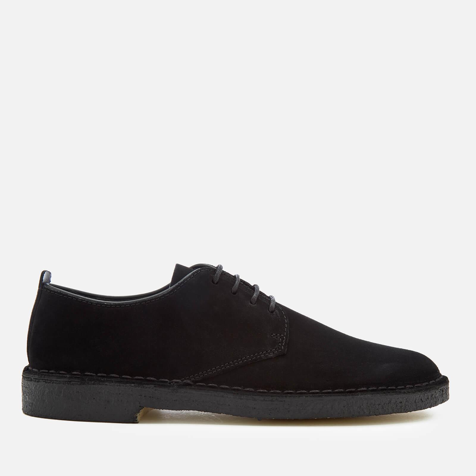 Clarks Originals Men's Desert London Shoes - Black - UK 11 - Black