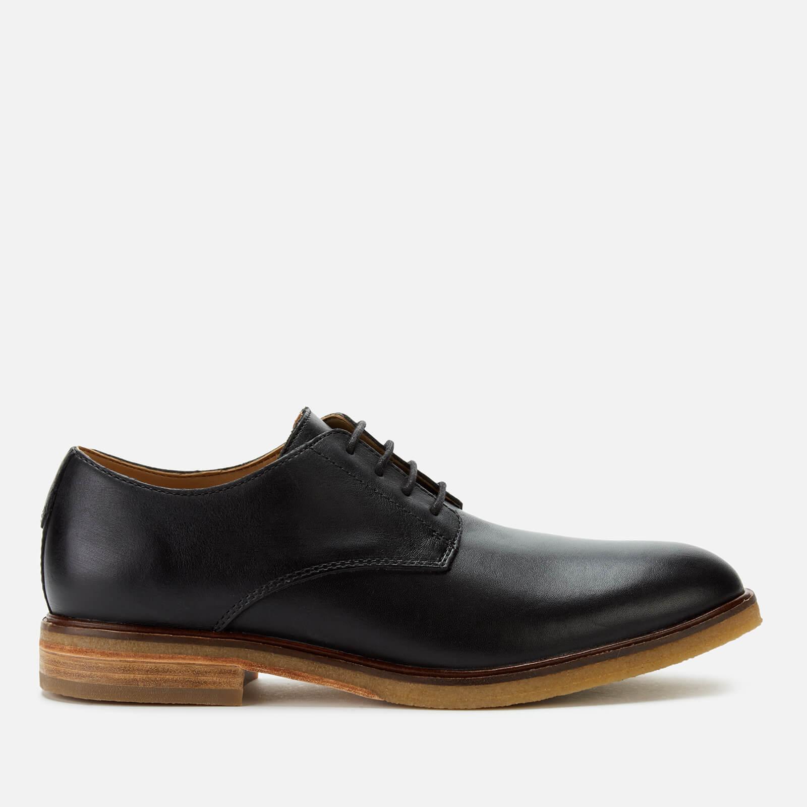 Clarks Men's Clarkdale Moon Leather Derby Shoes - Black - UK 11